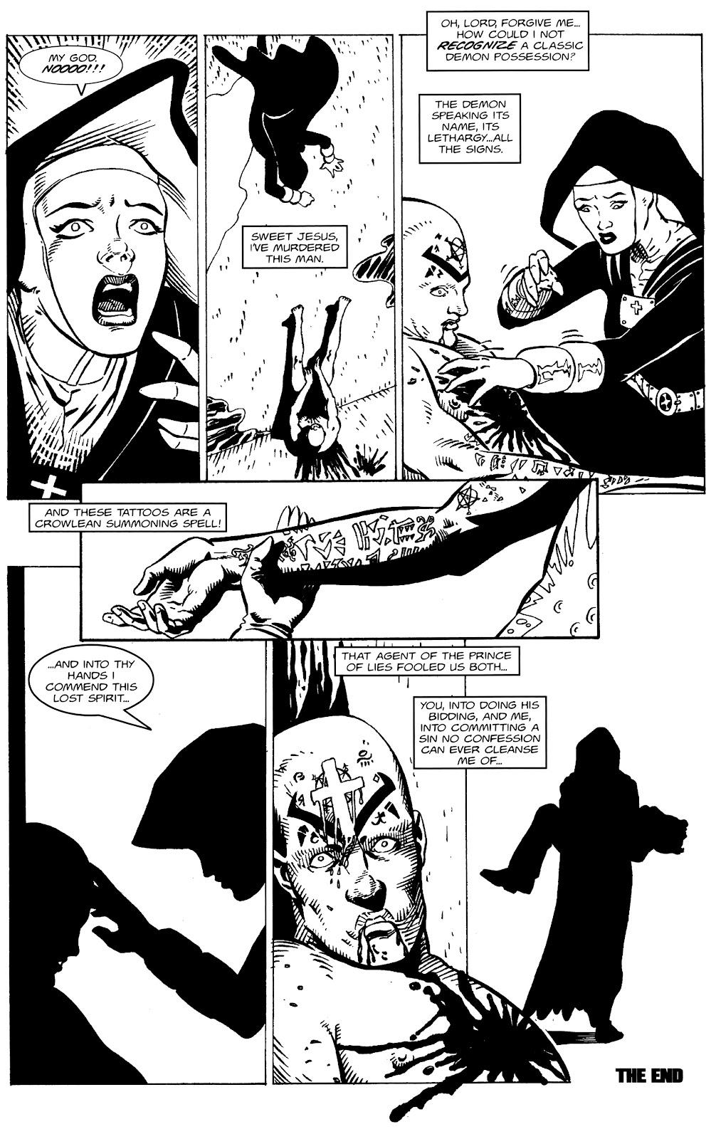 Warrior Nun Areala:  Dangerous Game Issue #1 #1 - English 23