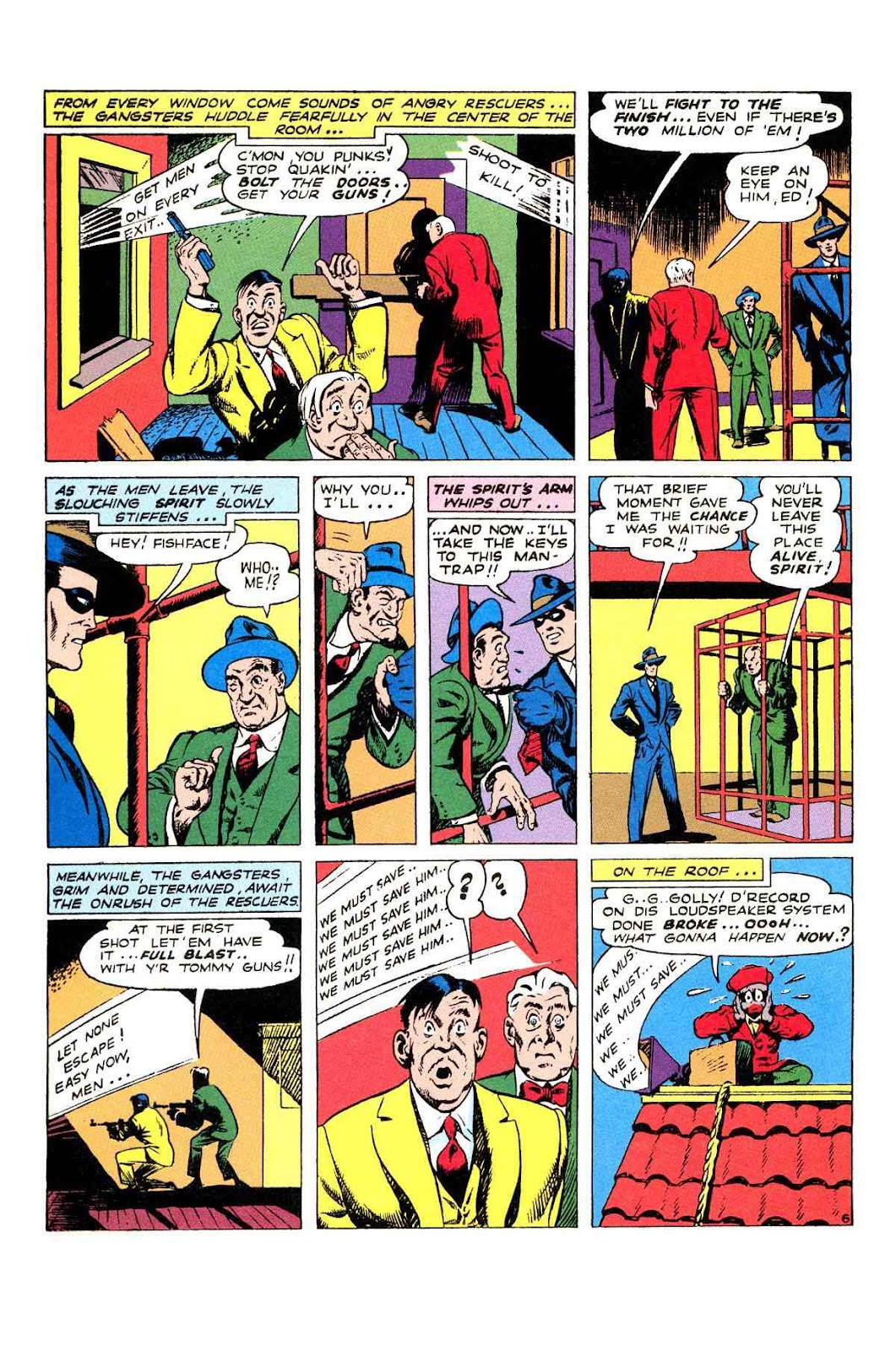 Read online Will Eisner's The Spirit Archives comic -  Issue # TPB 2 (Part 2) - 2