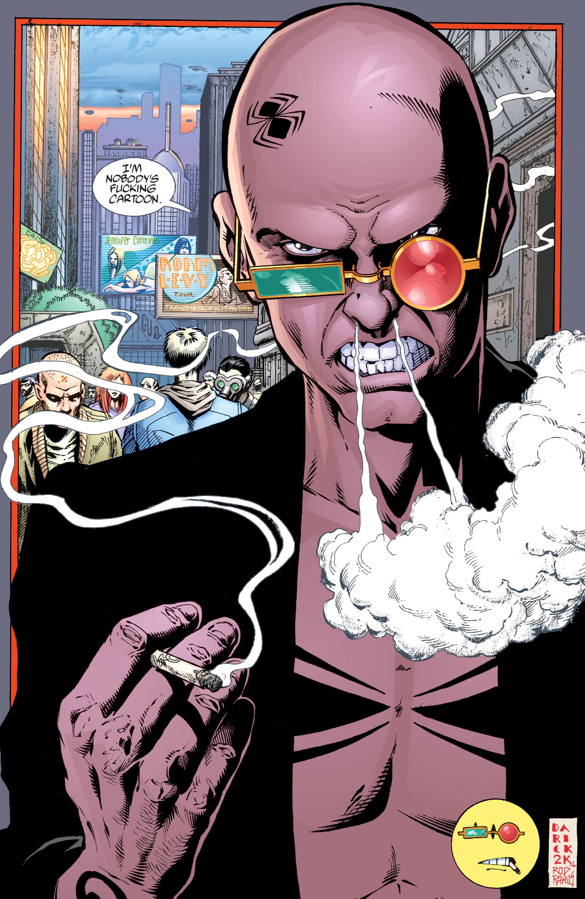 Read online Transmetropolitan comic -  Issue #34 - 23
