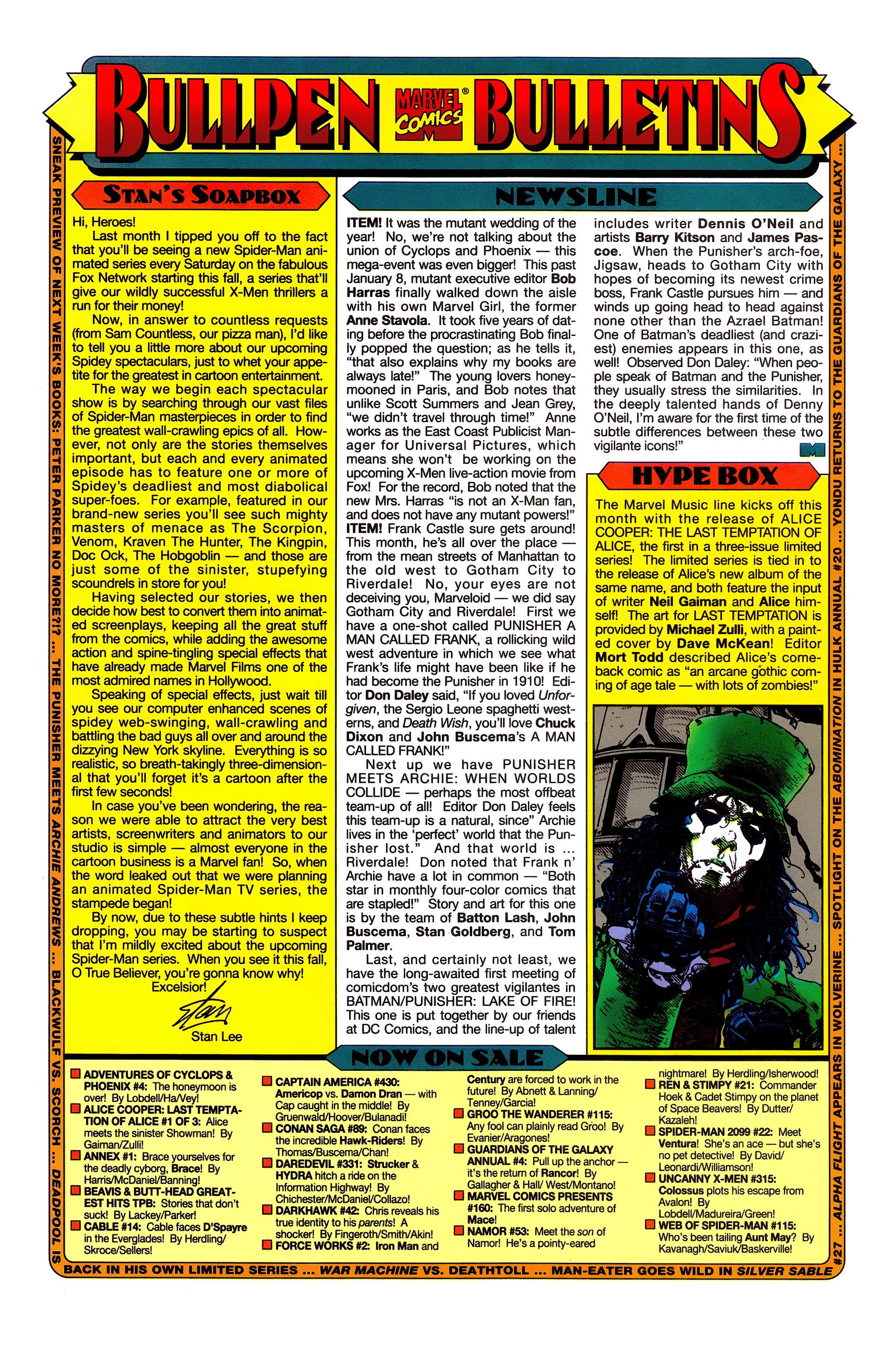 Read online Uncanny X-Men (1963) comic -  Issue #315 - 20