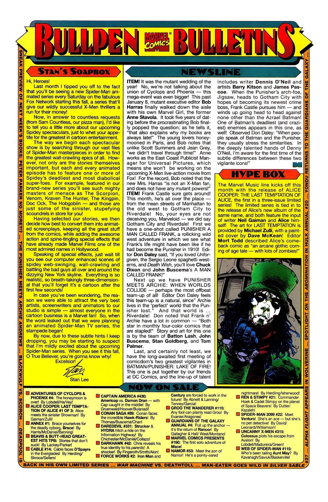 Uncanny X-Men (1963) issue 315 - Page 20