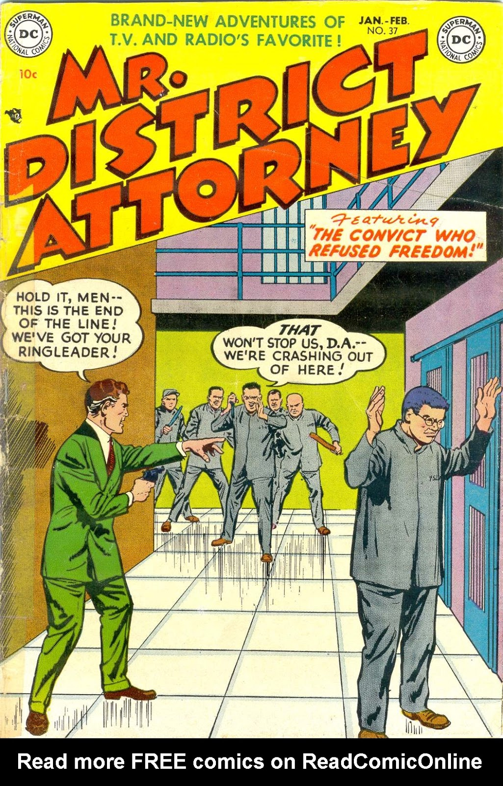 Mr. District Attorney issue 37 - Page 1