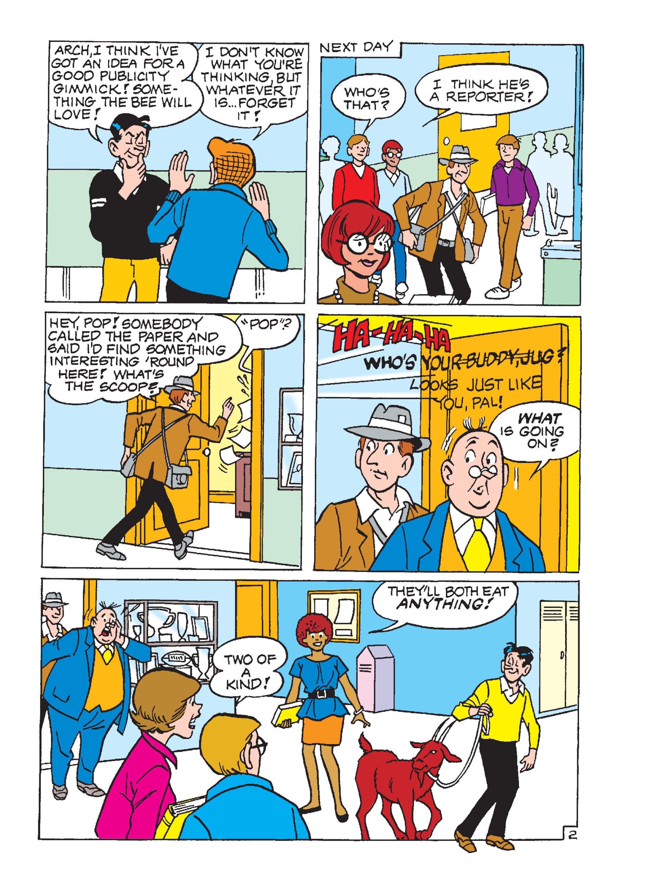 Read online Archie 1000 Page Comics Blowout! comic -  Issue # TPB (Part 1) - 128