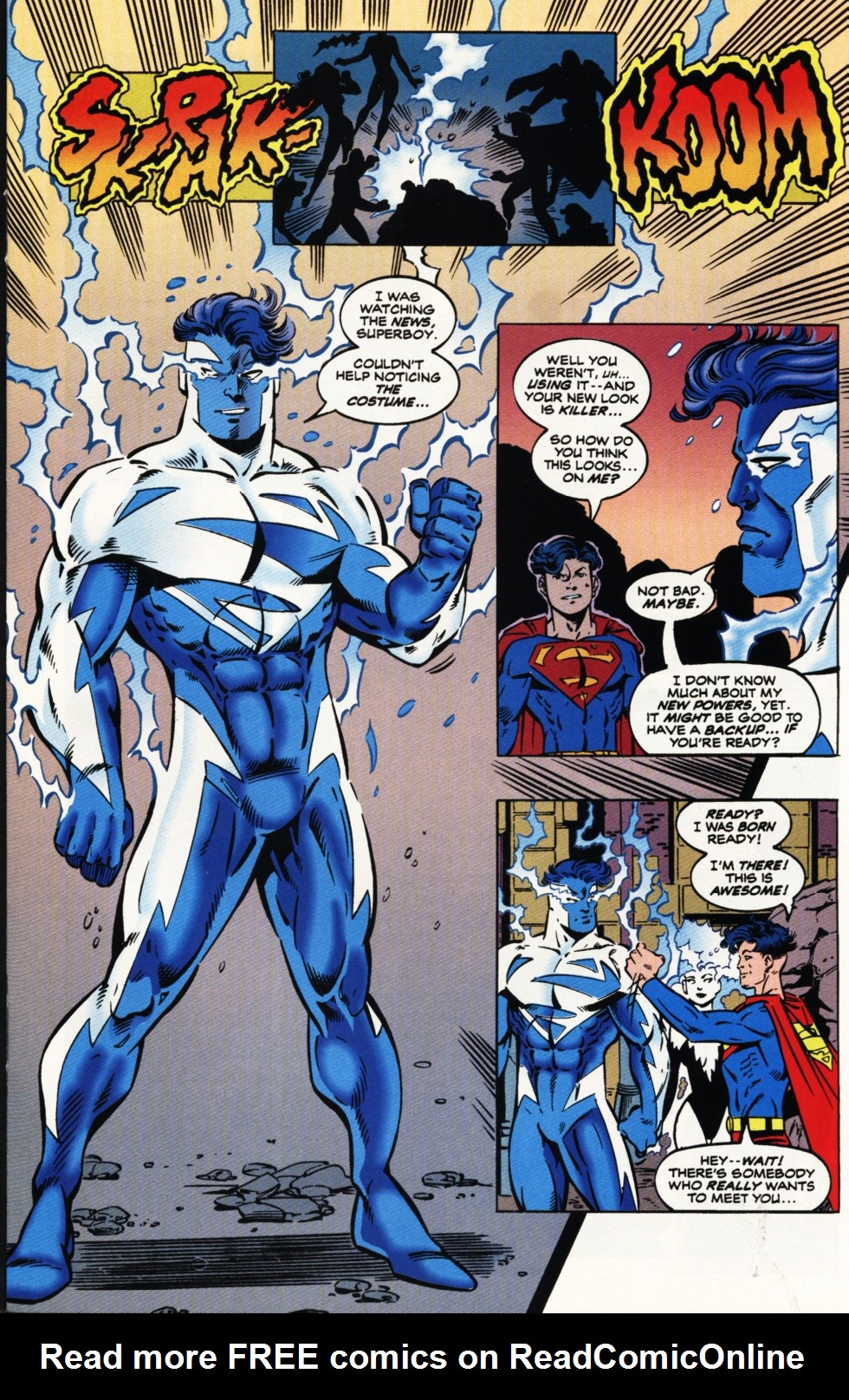 Read online Superboy & The Ravers comic -  Issue #9 - 8
