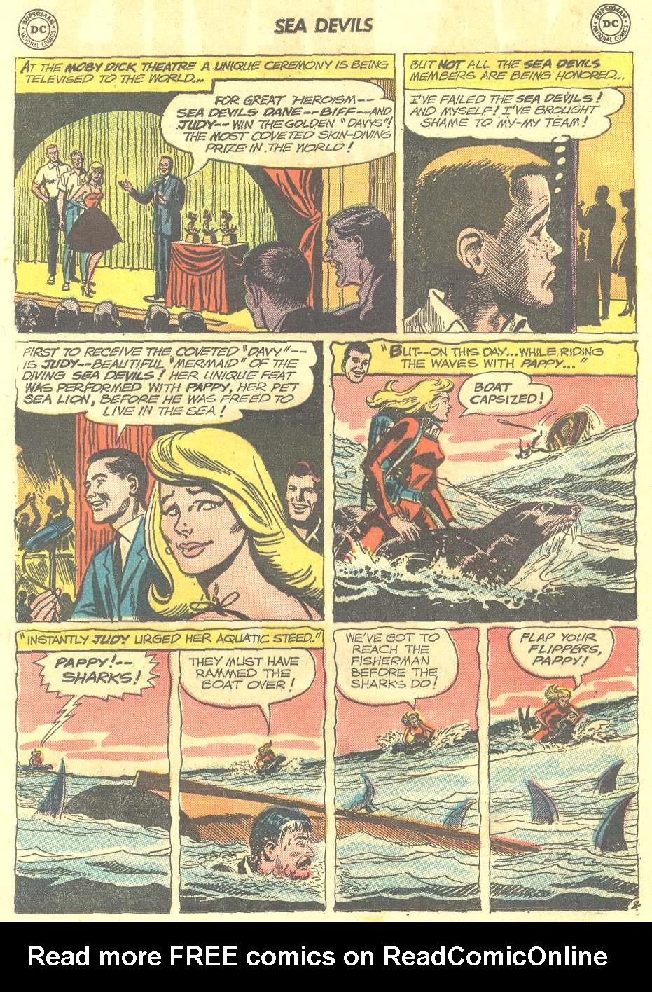 Read online Sea Devils comic -  Issue #12 - 4