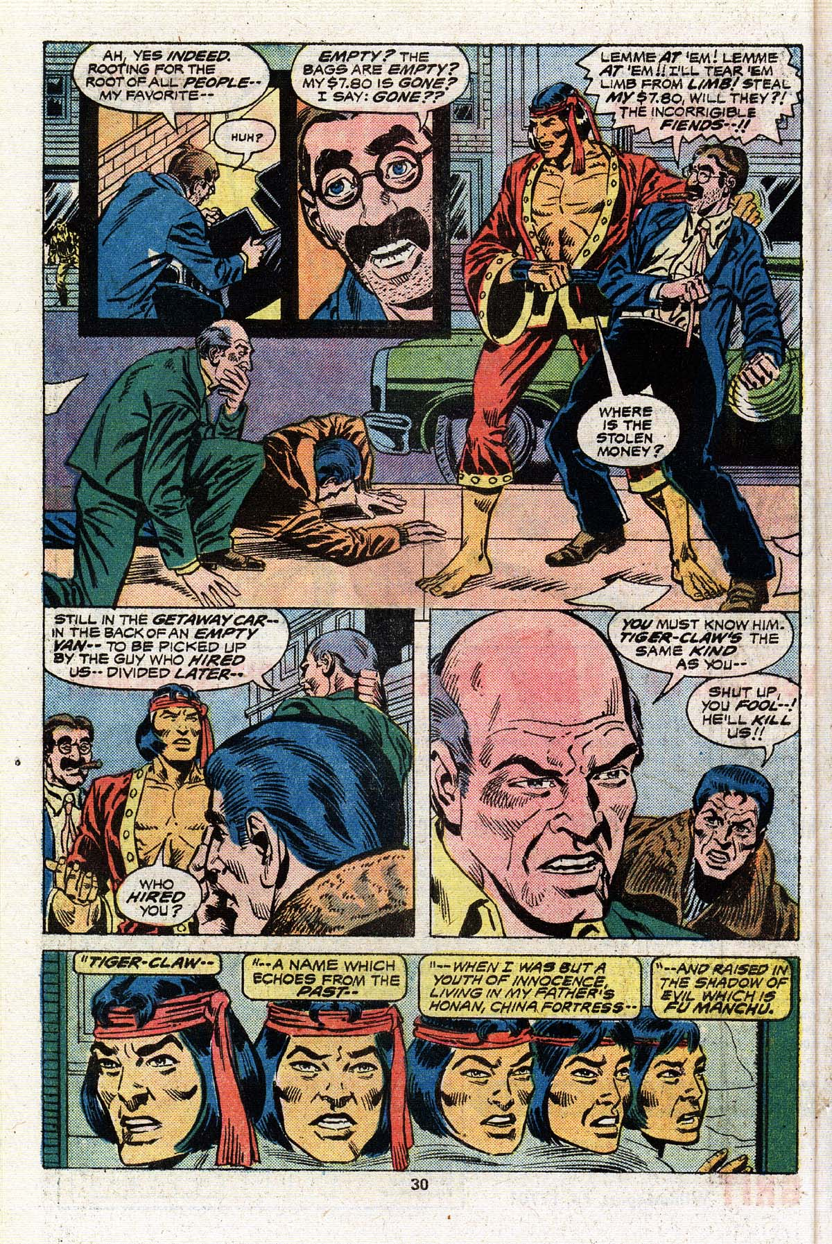 Read online Giant-Size Master of Kung Fu comic -  Issue #4 - 25