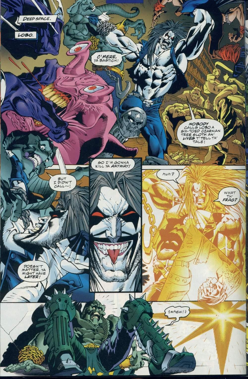 Read online DC Versus Marvel Comics comic -  Issue #1 - 16