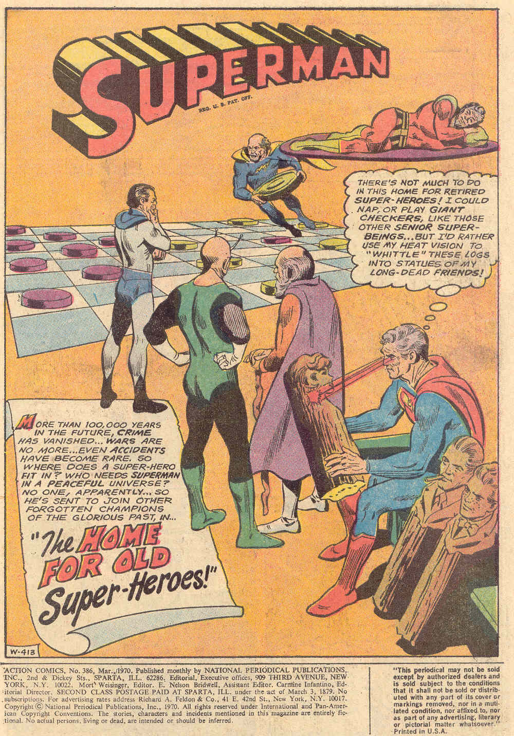 Read online Action Comics (1938) comic -  Issue #386 - 2