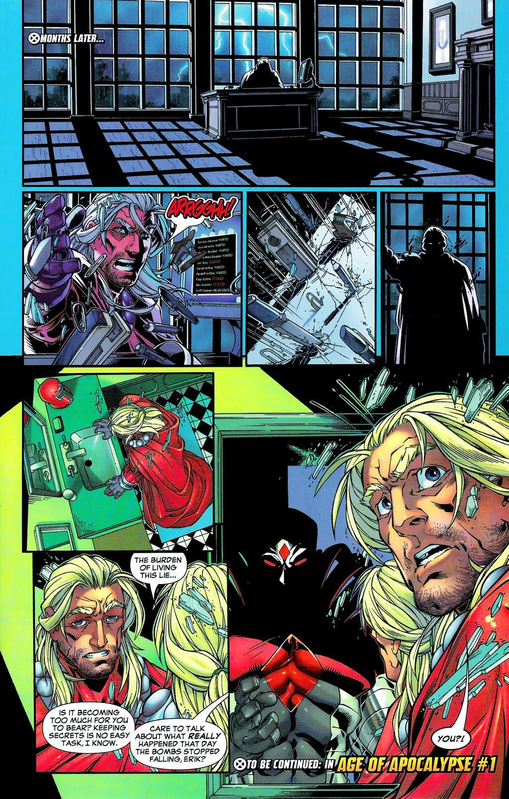 Read online Age of Apocalypse (2005) comic -  Issue #0 - 33