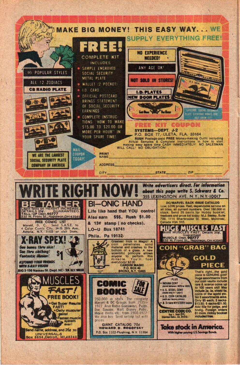 Read online Shazam! (1973) comic -  Issue #29 - 8