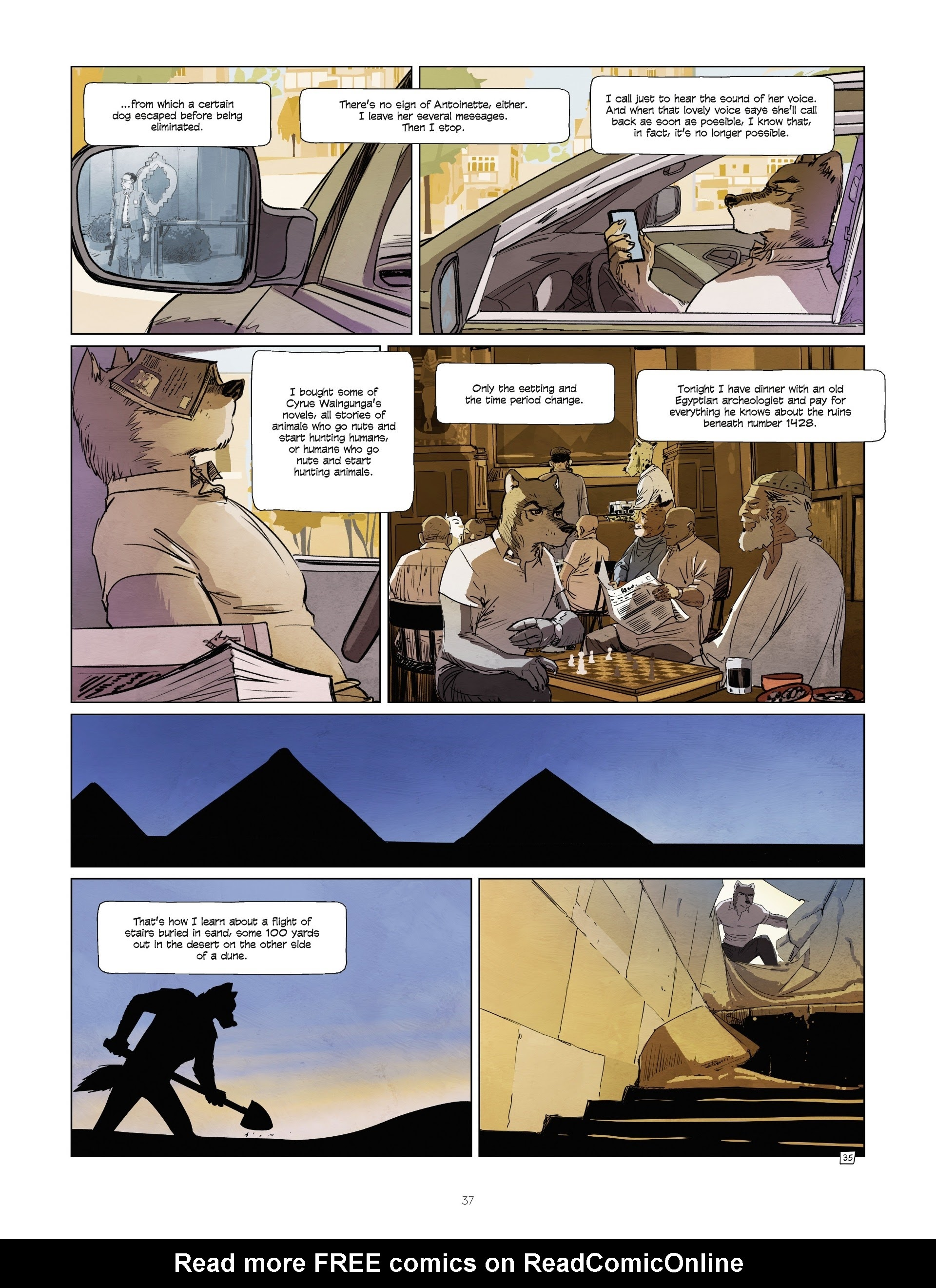 Read online Jack Wolfgang comic -  Issue #3 - 39
