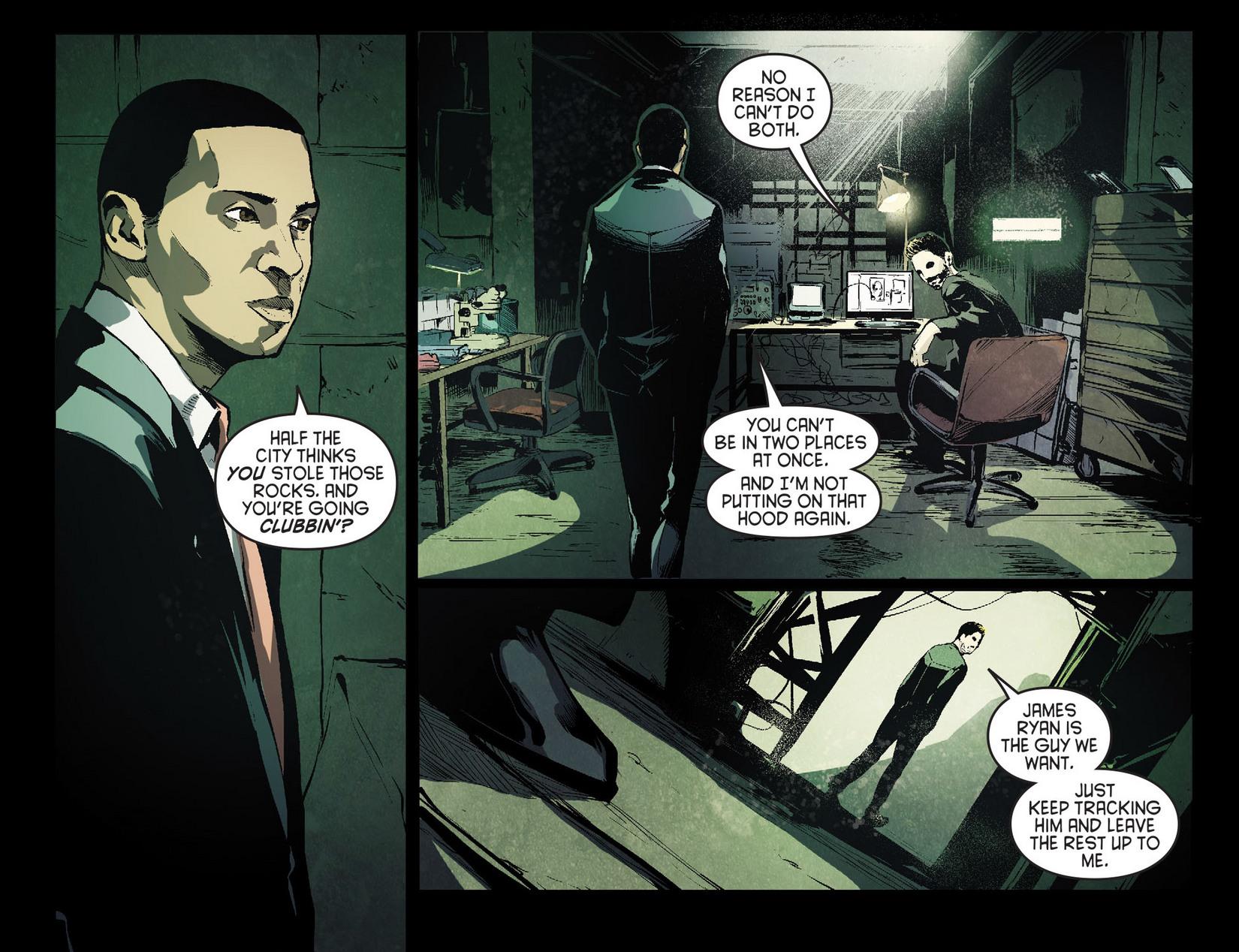 Read online Arrow [II] comic -  Issue #7 - 10