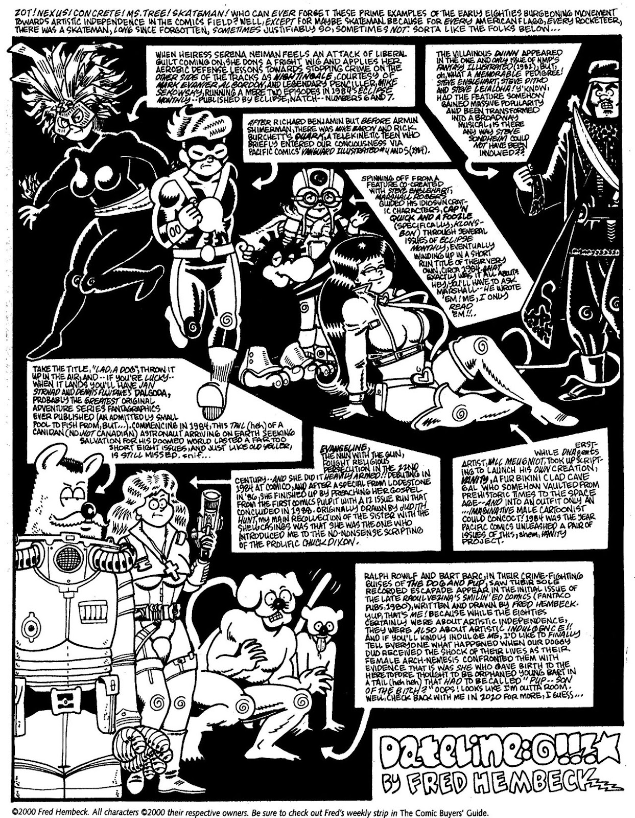 Read online The Nearly Complete Essential Hembeck Archives Omnibus comic -  Issue # TPB (Part 7) - 7