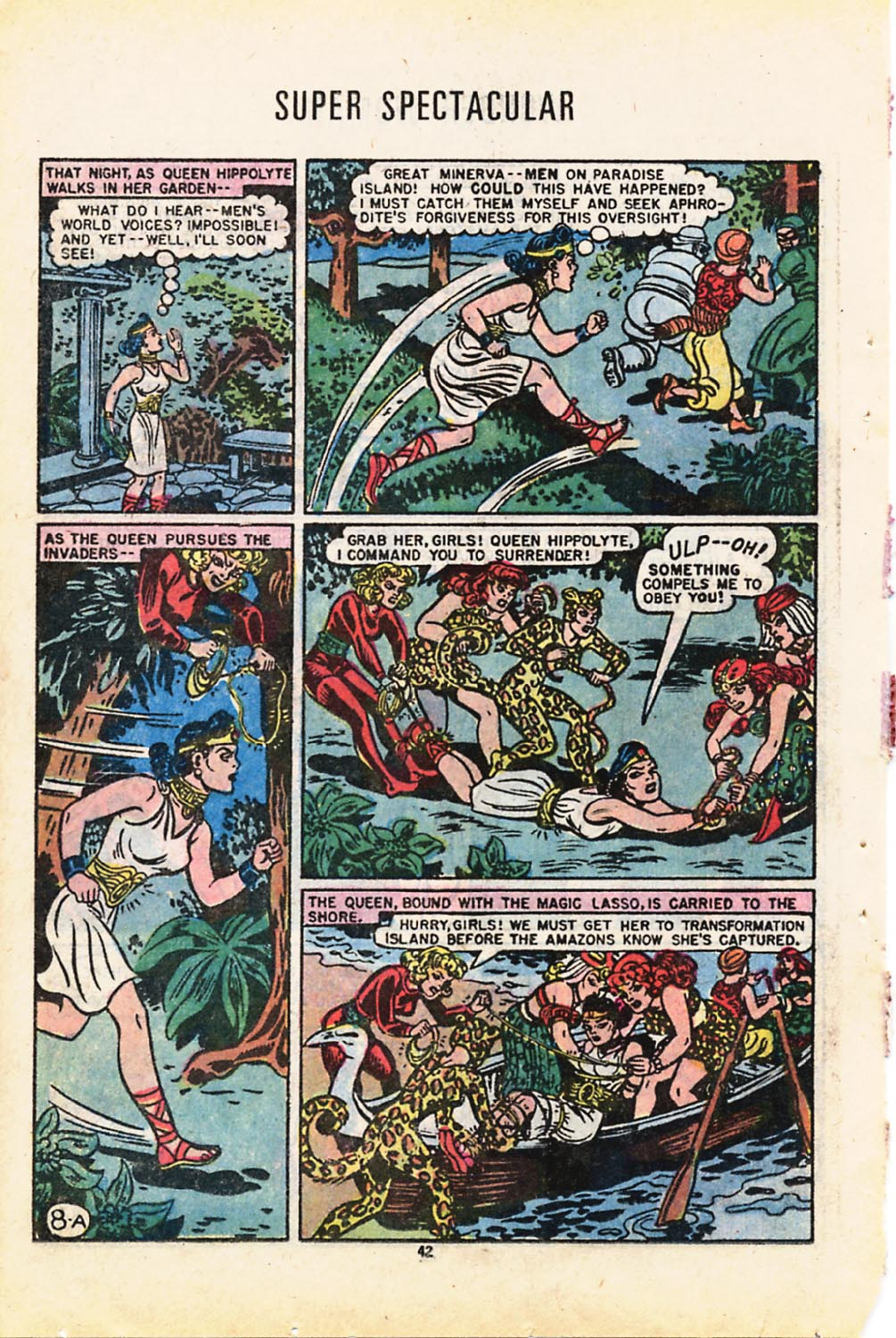 Read online Adventure Comics (1938) comic -  Issue #416 - 42