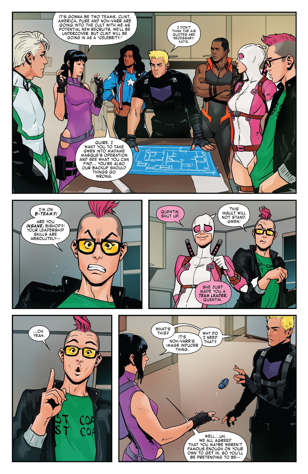 Read online West Coast Avengers (2018) comic -  Issue #8 - 8