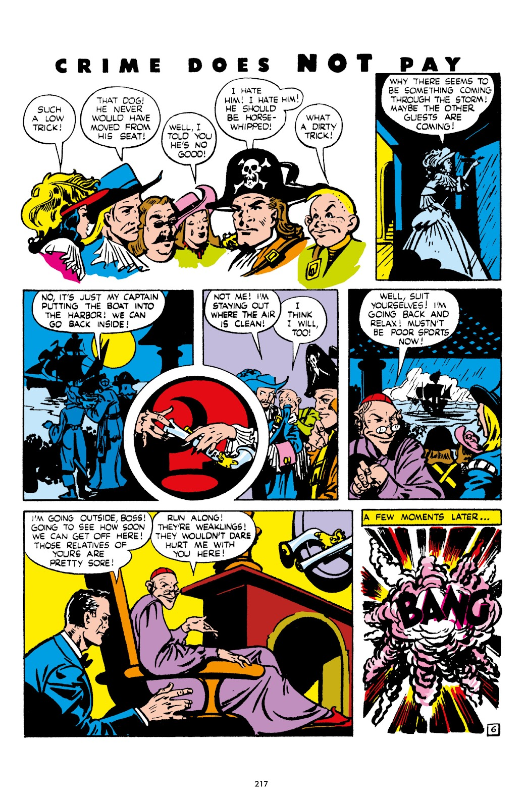 Read online Crime Does Not Pay Archives comic -  Issue # TPB 5 (Part 3) - 17