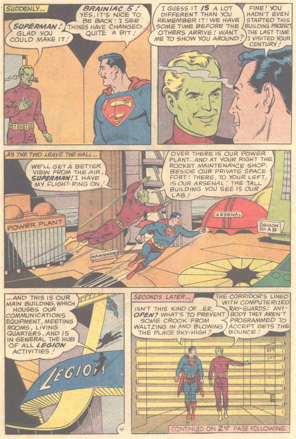 Read online Adventure Comics (1938) comic -  Issue #354 - 6