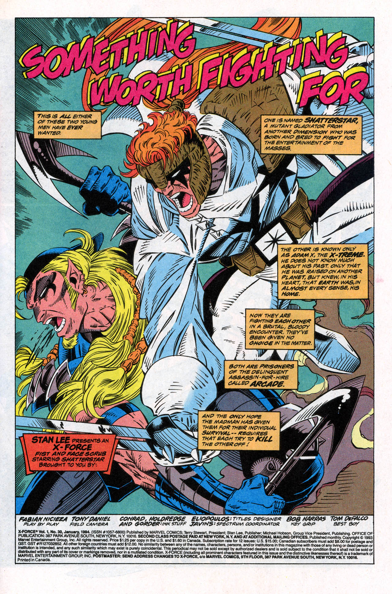 Read online X-Force (1991) comic -  Issue #30 - 3