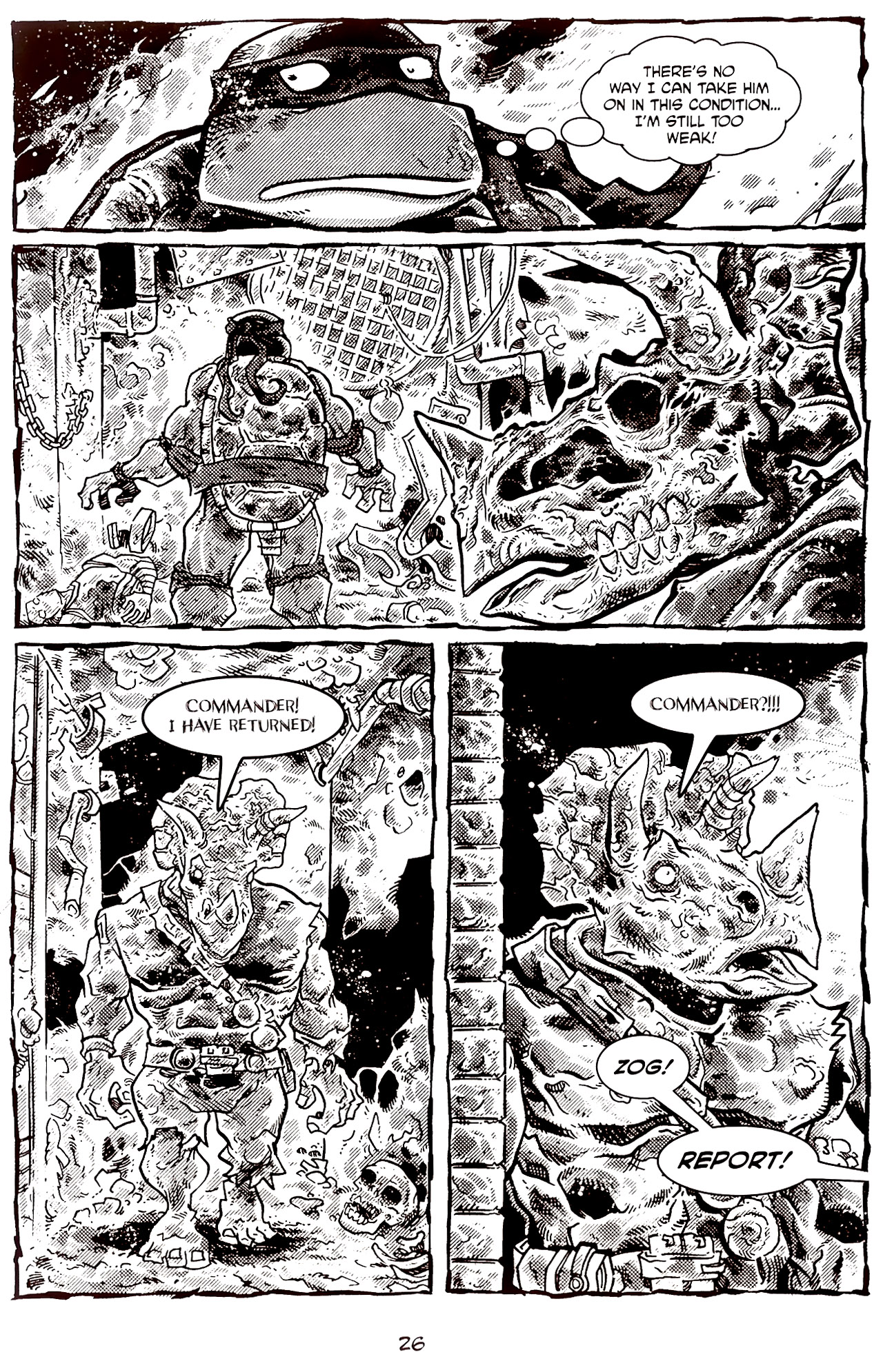 Read online Tales of the TMNT comic -  Issue #70 - 31