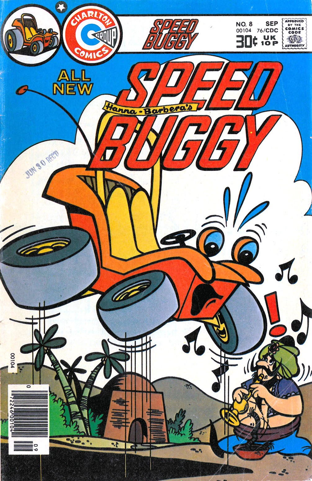 Speed Buggy issue 8 - Page 1