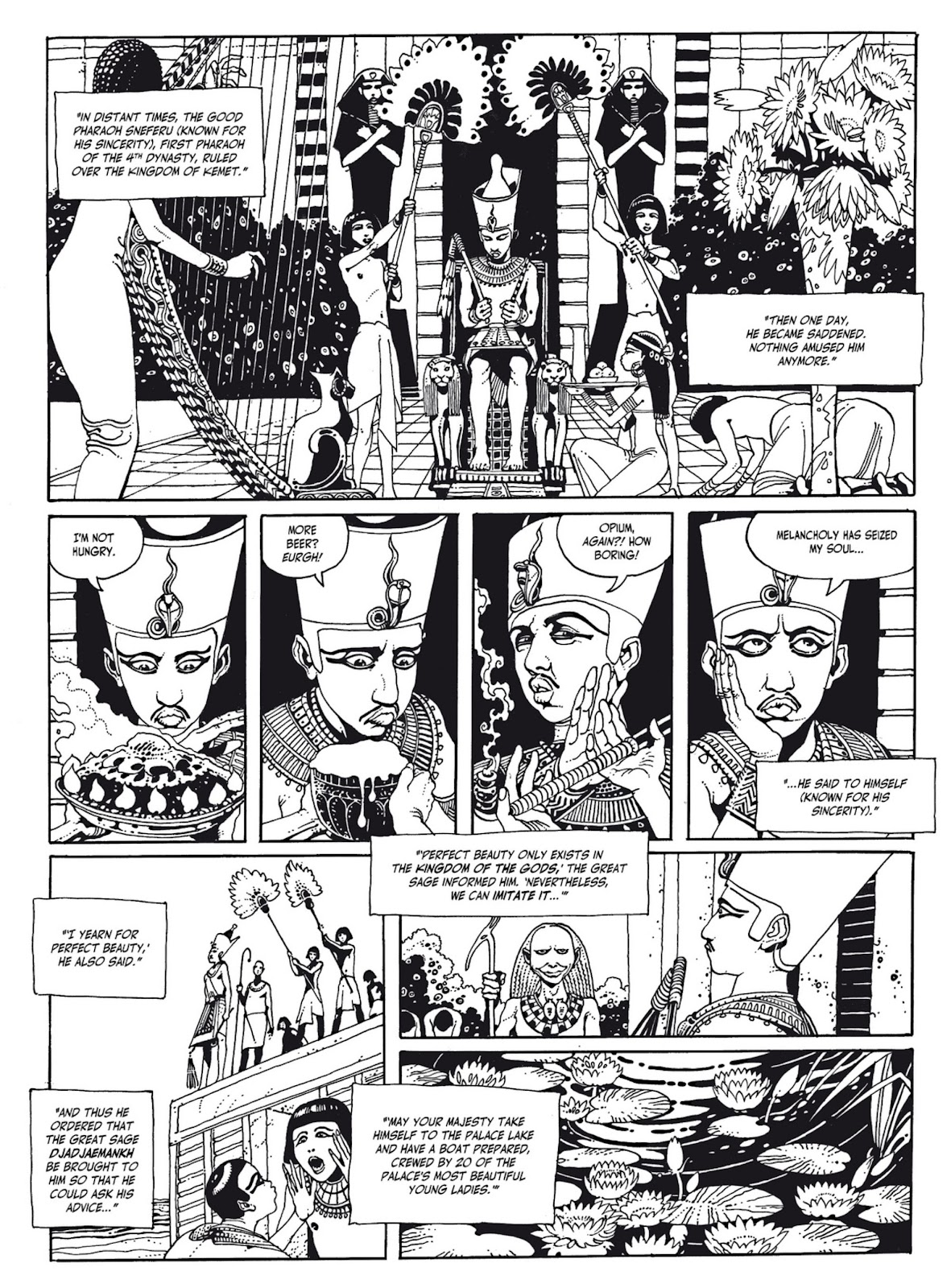 Read online The Egyptian Princesses comic -  Issue # TPB 1 (Part 1) - 61