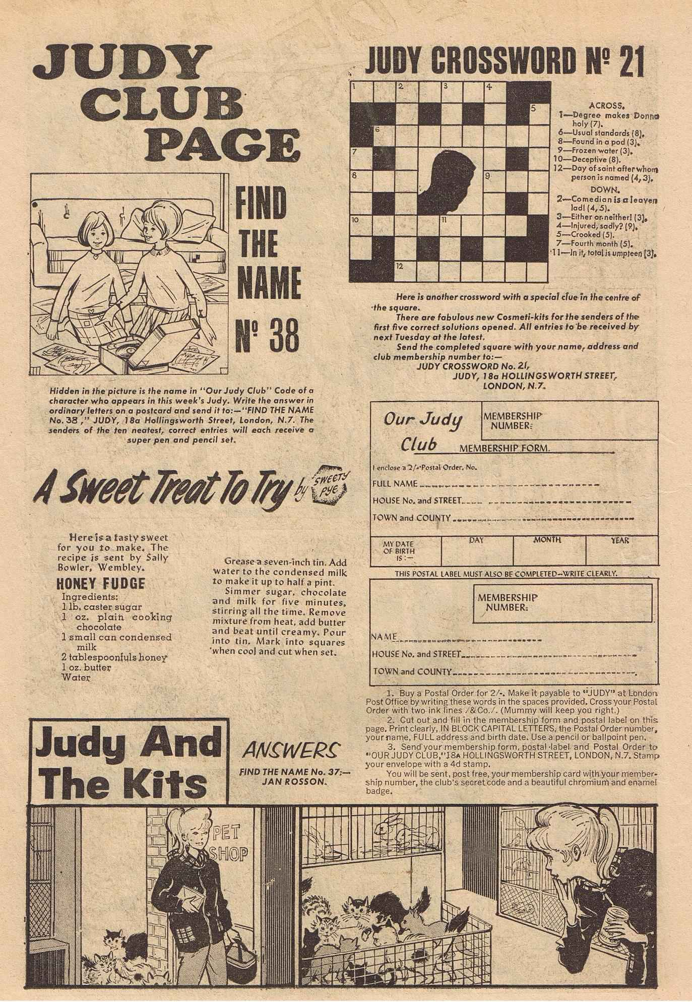 Read online Judy comic -  Issue #383 - 28