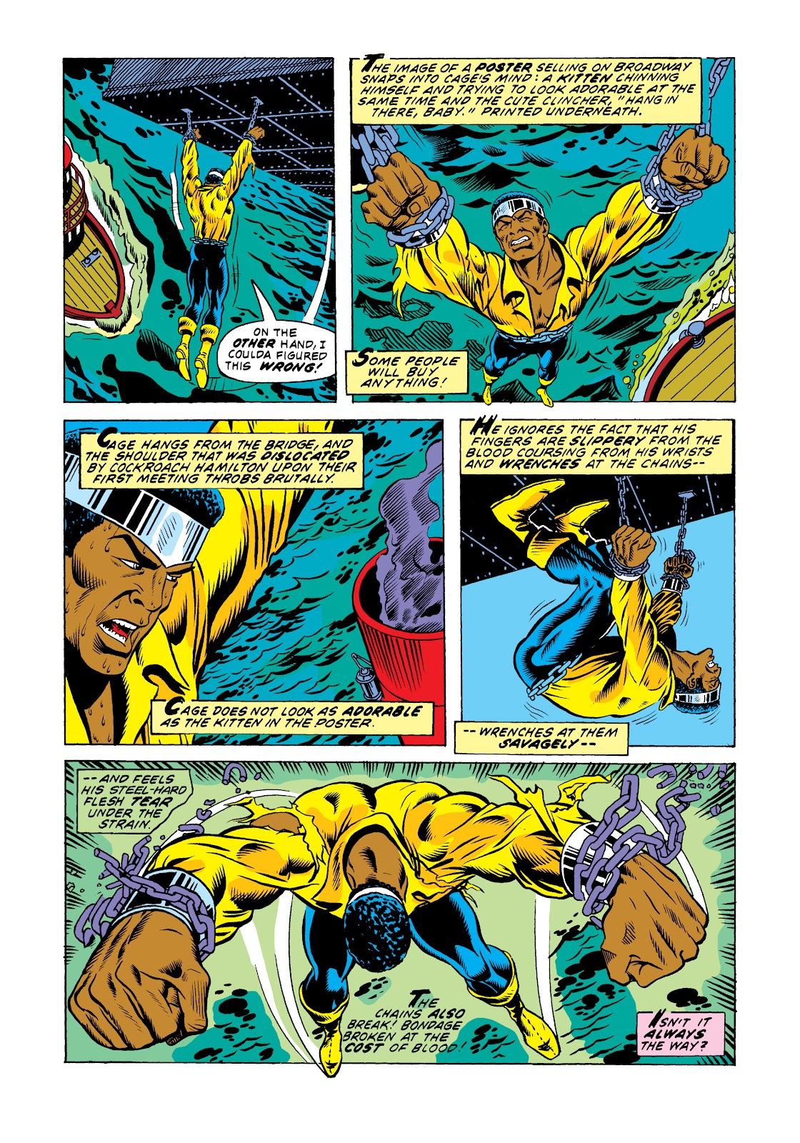 Read online Marvel Masterworks: Luke Cage, Power Man comic -  Issue # TPB 2 (Part 3) - 62