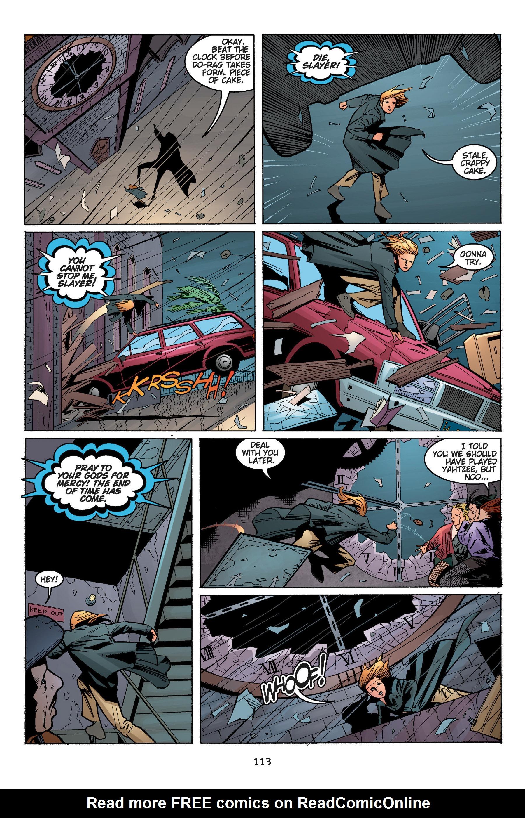 Read online Buffy the Vampire Slayer: Omnibus comic -  Issue # TPB 5 - 114
