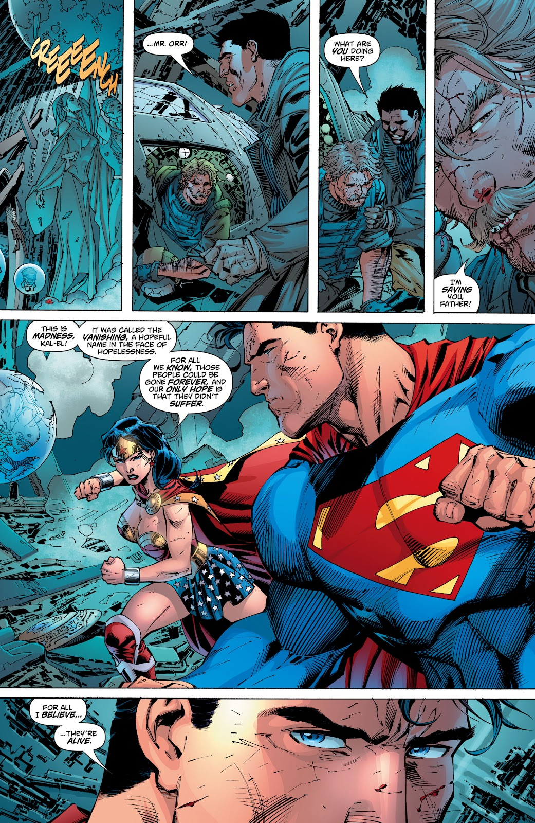 Read online Superman: For Tomorrow comic -  Issue # TPB (Part 2) - 96
