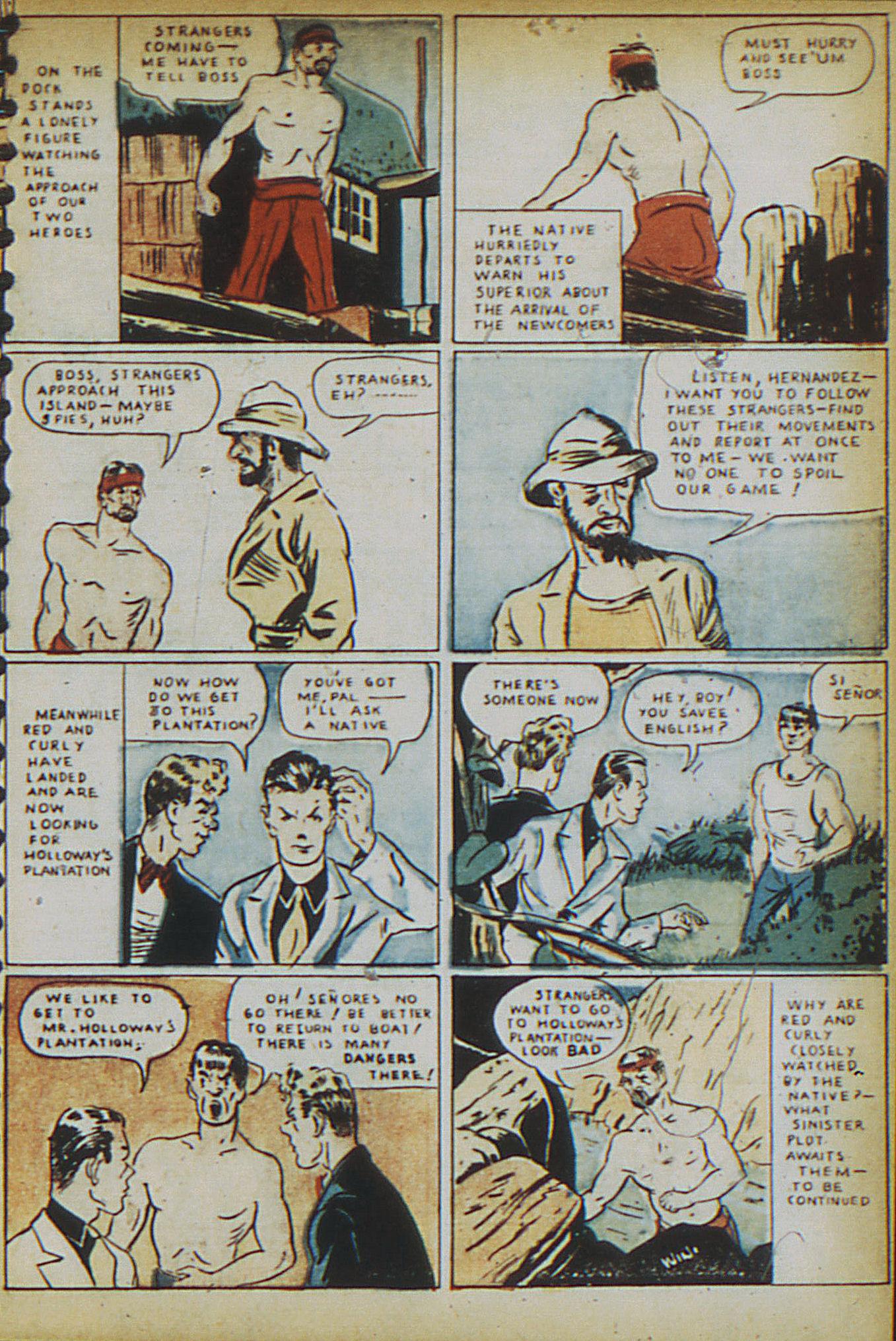Read online Adventure Comics (1938) comic -  Issue #15 - 13