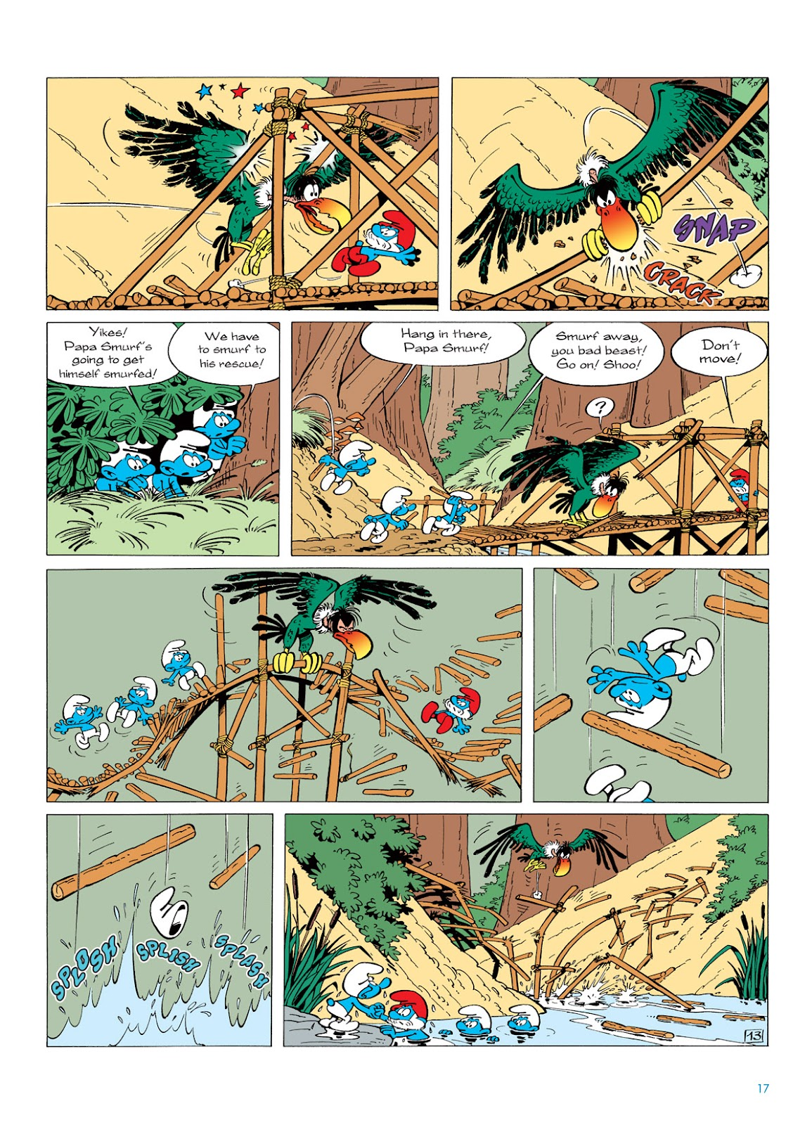 Read online The Smurfs comic -  Issue #6 - 17