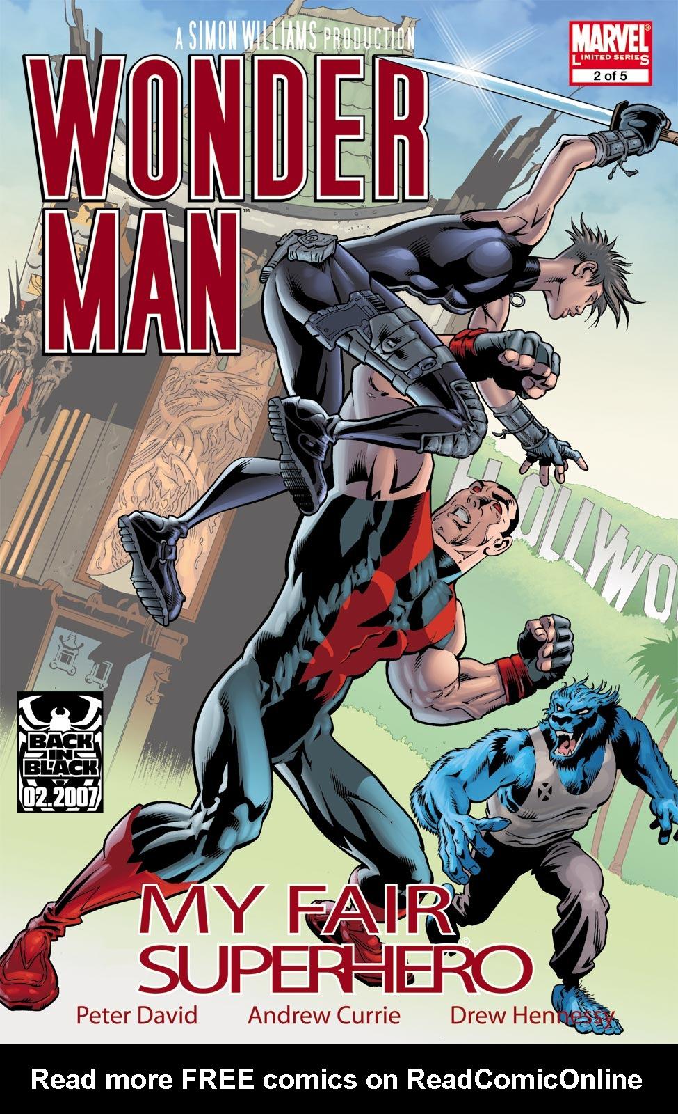 Read online Wonder Man (2007) comic -  Issue #2 - 1