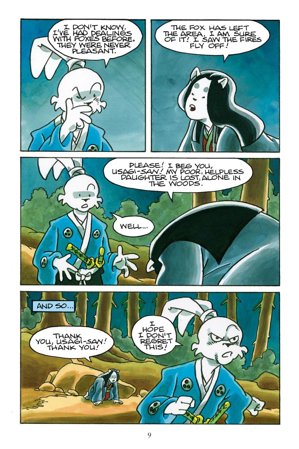 Read online Usagi Yojimbo: Yokai comic -  Issue # Full - 10