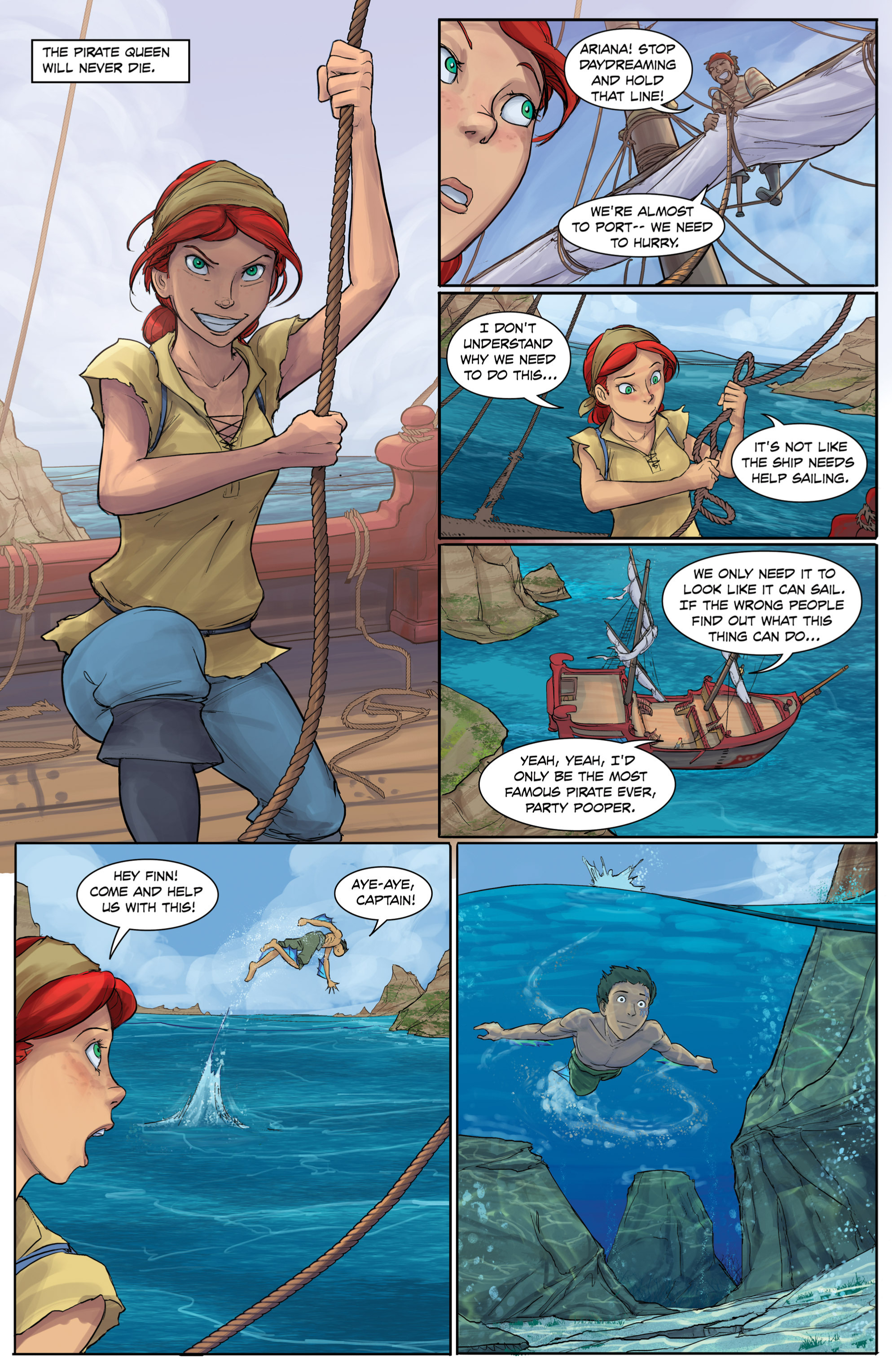 Read online Anne Bonnie comic -  Issue #4 - 6
