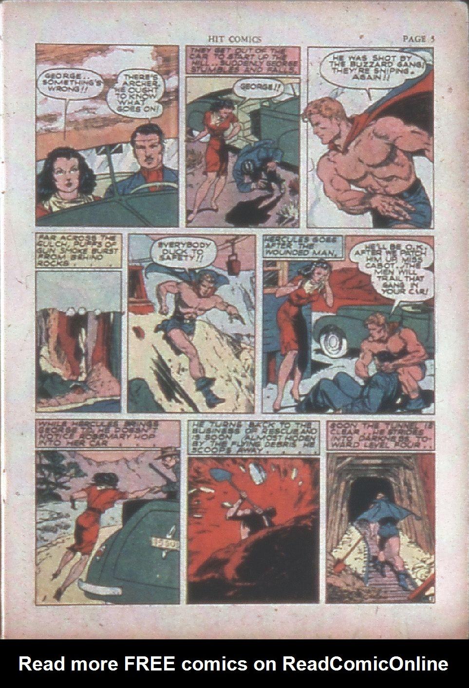 Read online Hit Comics comic -  Issue #15 - 7