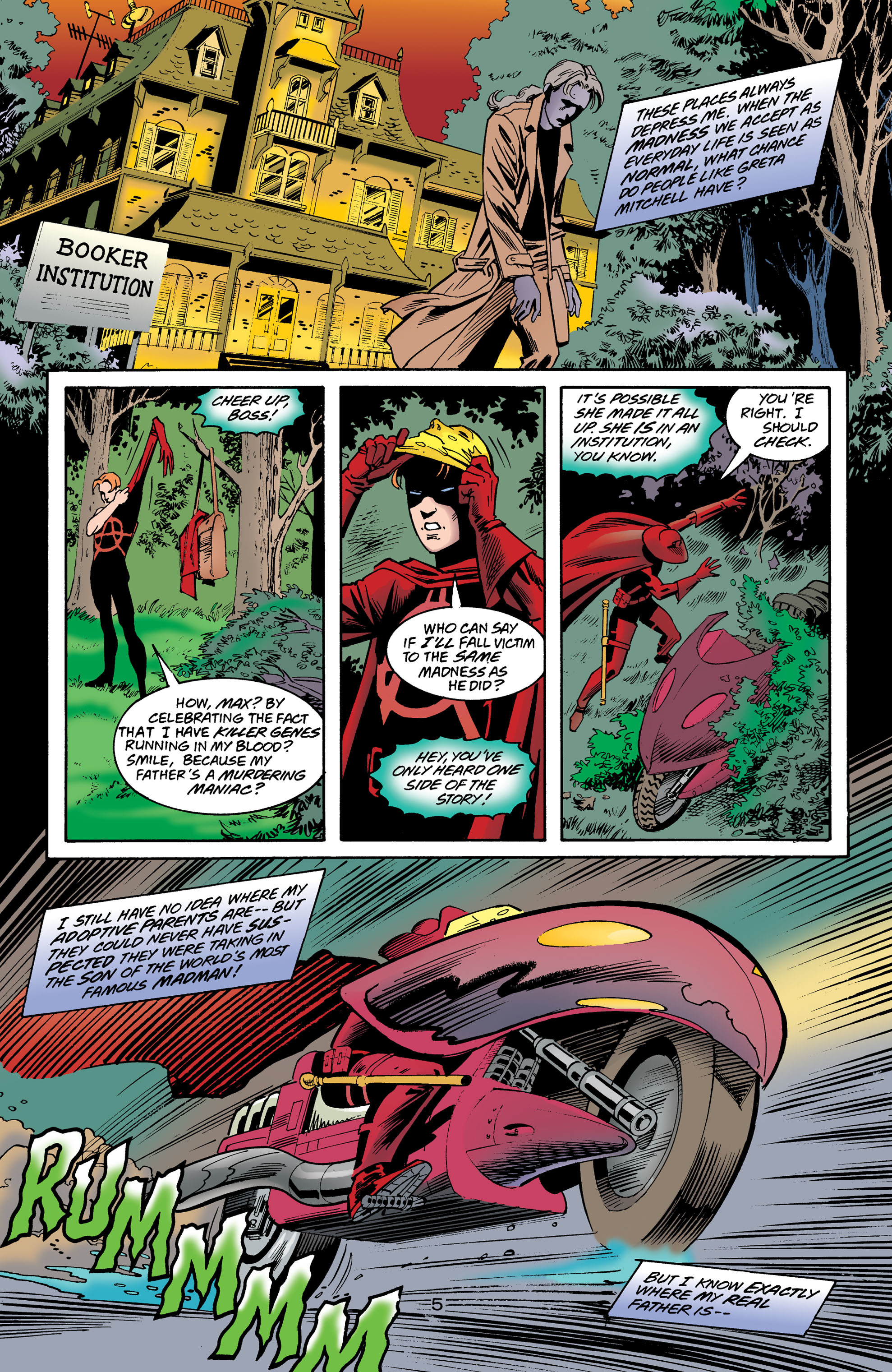 Read online Anarky (1999) comic -  Issue #8 - 6