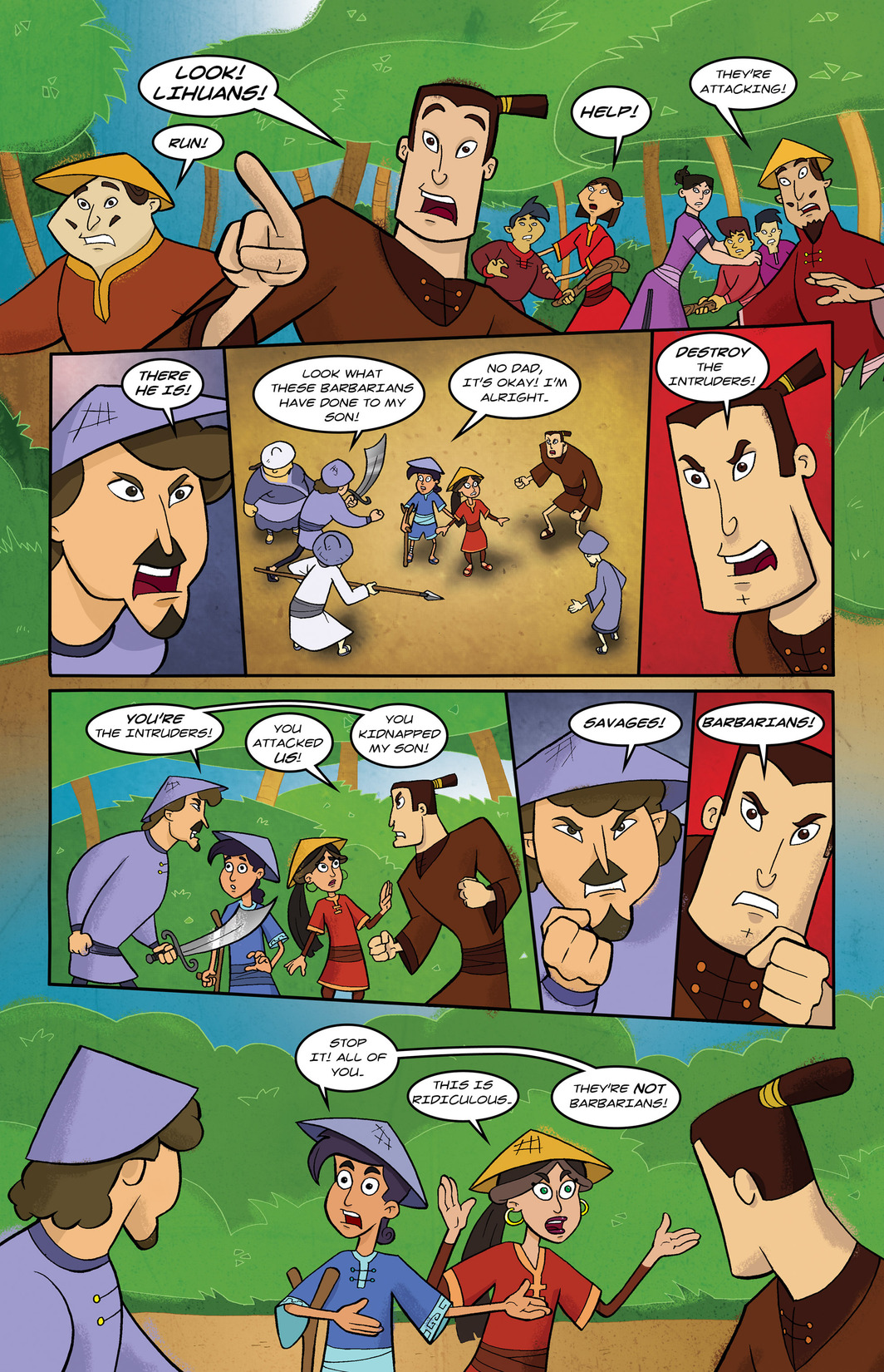 Read online 1001 Nights comic -  Issue #6 - 20