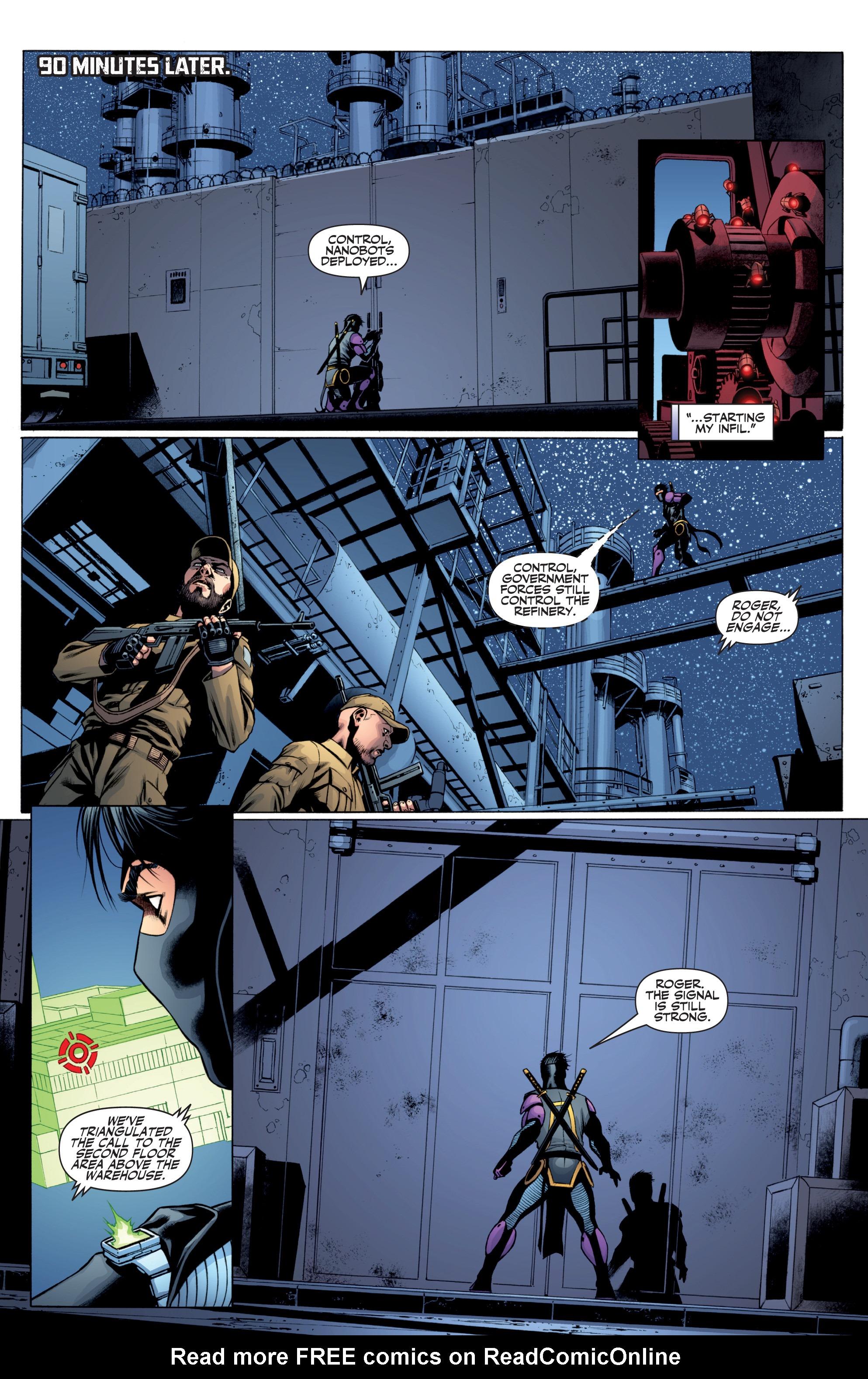 Read online Ninjak (2015) comic -  Issue #27 - 8