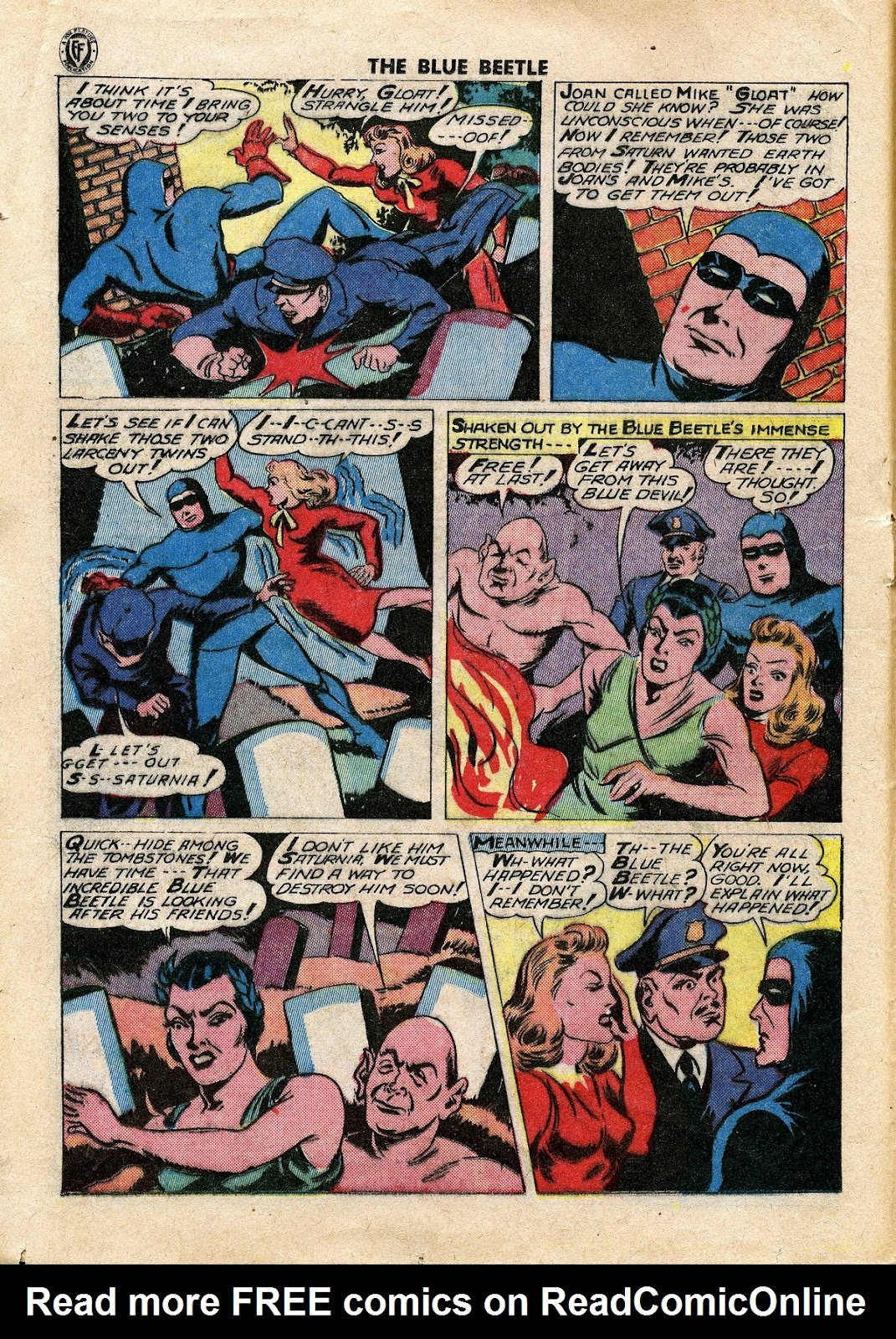 The Blue Beetle issue 34 - Page 19
