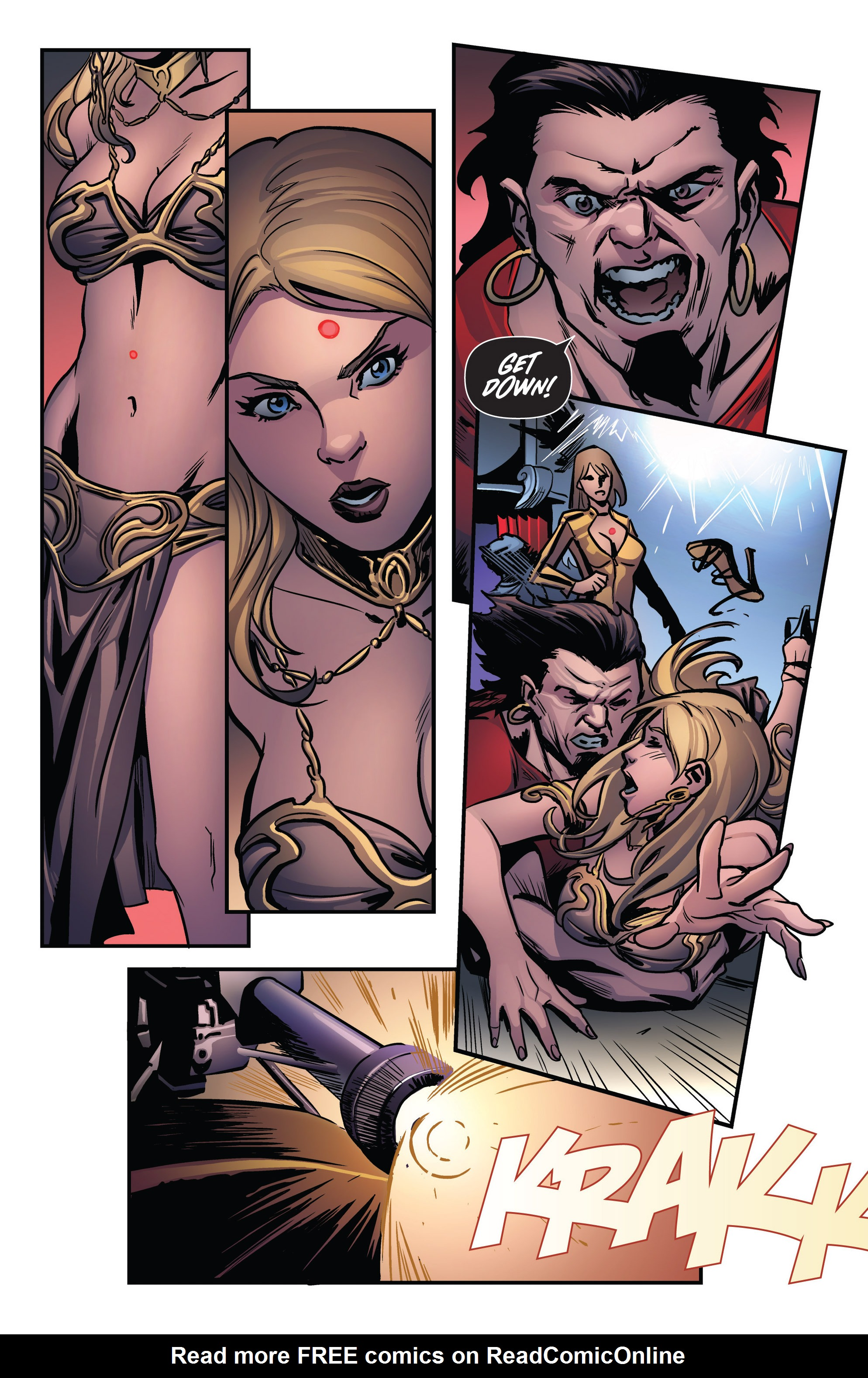 Read online Grimm Fairy Tales presents Goddess Inc. comic -  Issue #3 - 21