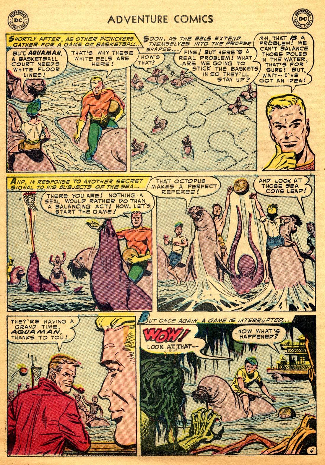 Read online Adventure Comics (1938) comic -  Issue #206 - 20