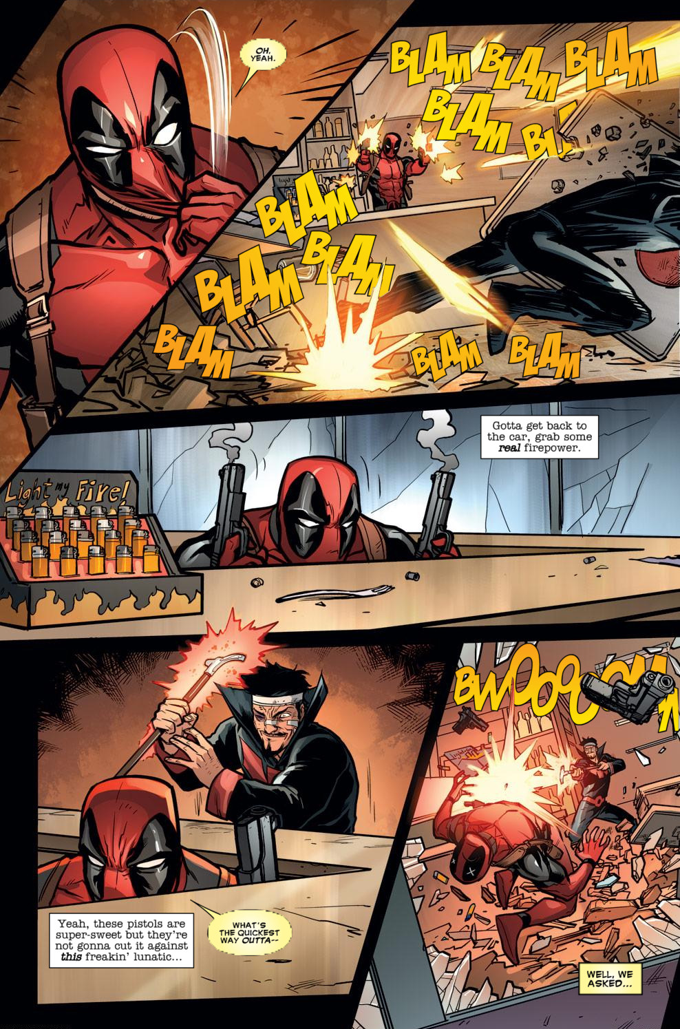 Read online Deadpool (2008) comic -  Issue #59 - 17
