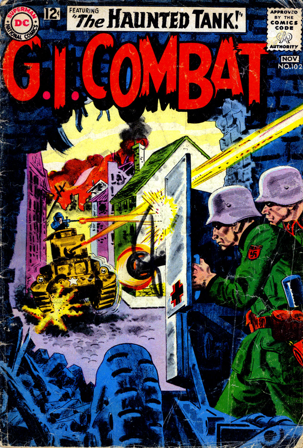 G.I. Combat (1952) issue 102 - Page 1