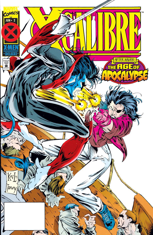 Read online X-Calibre comic -  Issue #2 - 1
