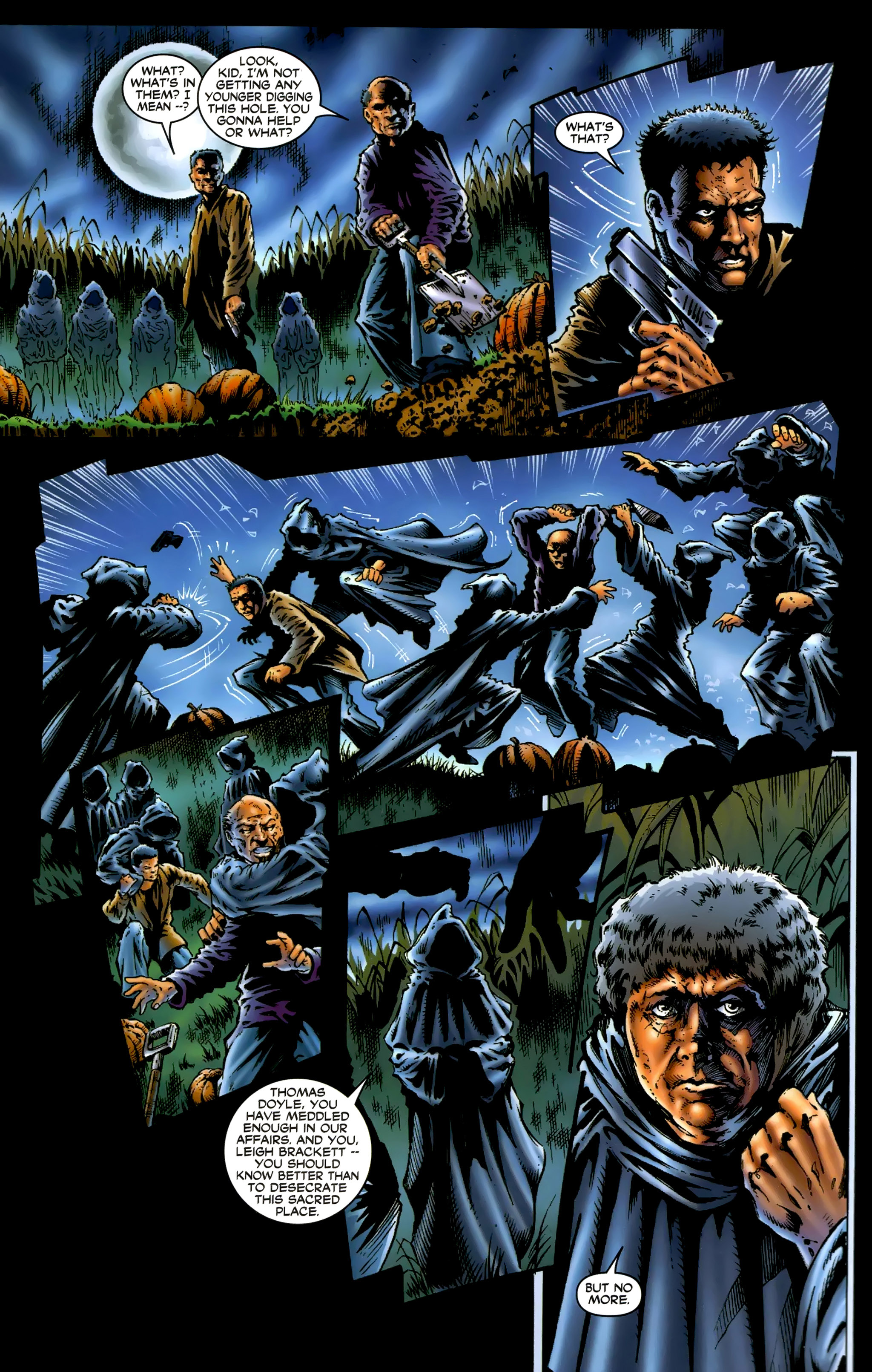 Read online Halloween II: The Blackest Eyes comic -  Issue # Full - 17
