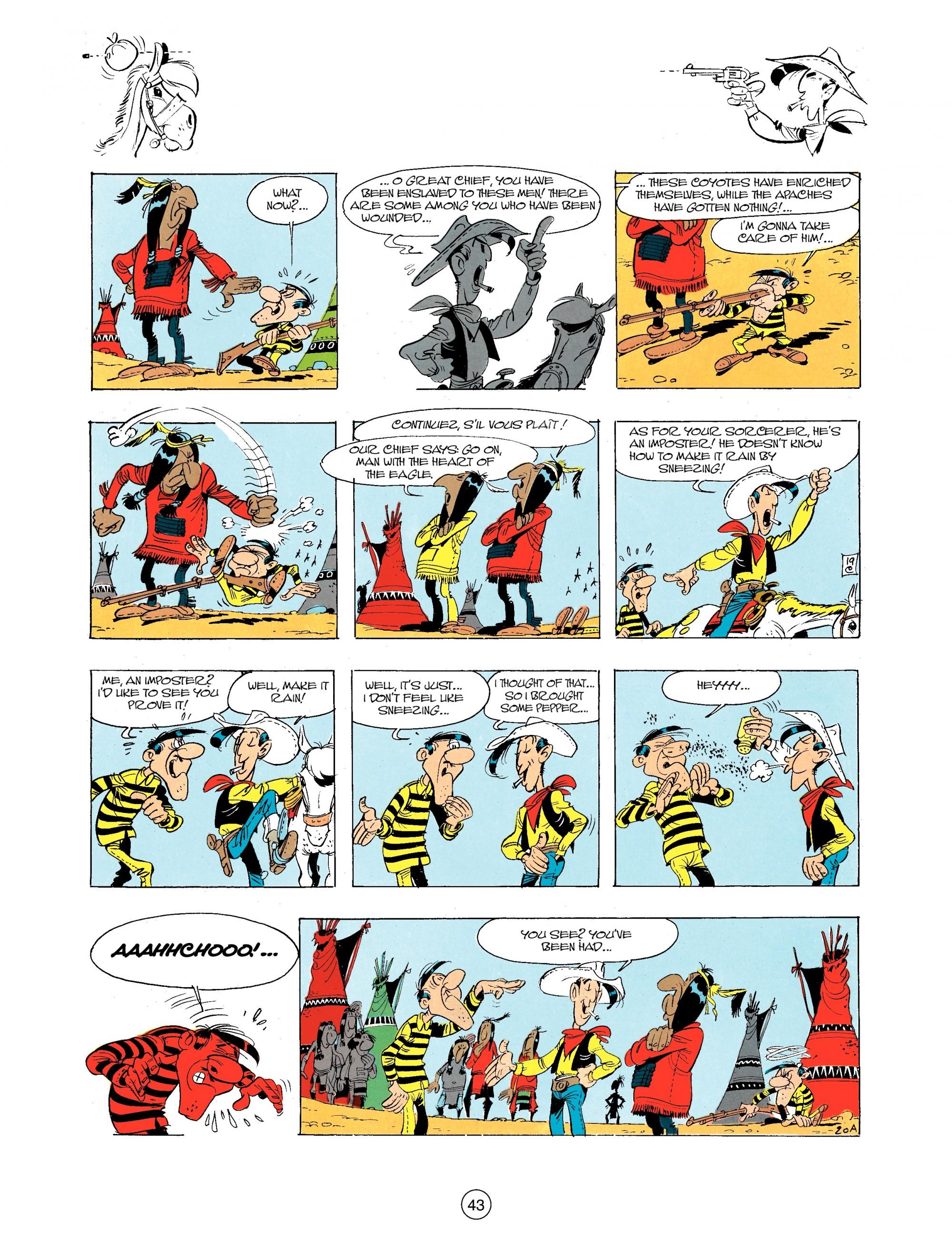 Read online A Lucky Luke Adventure comic -  Issue #34 - 43