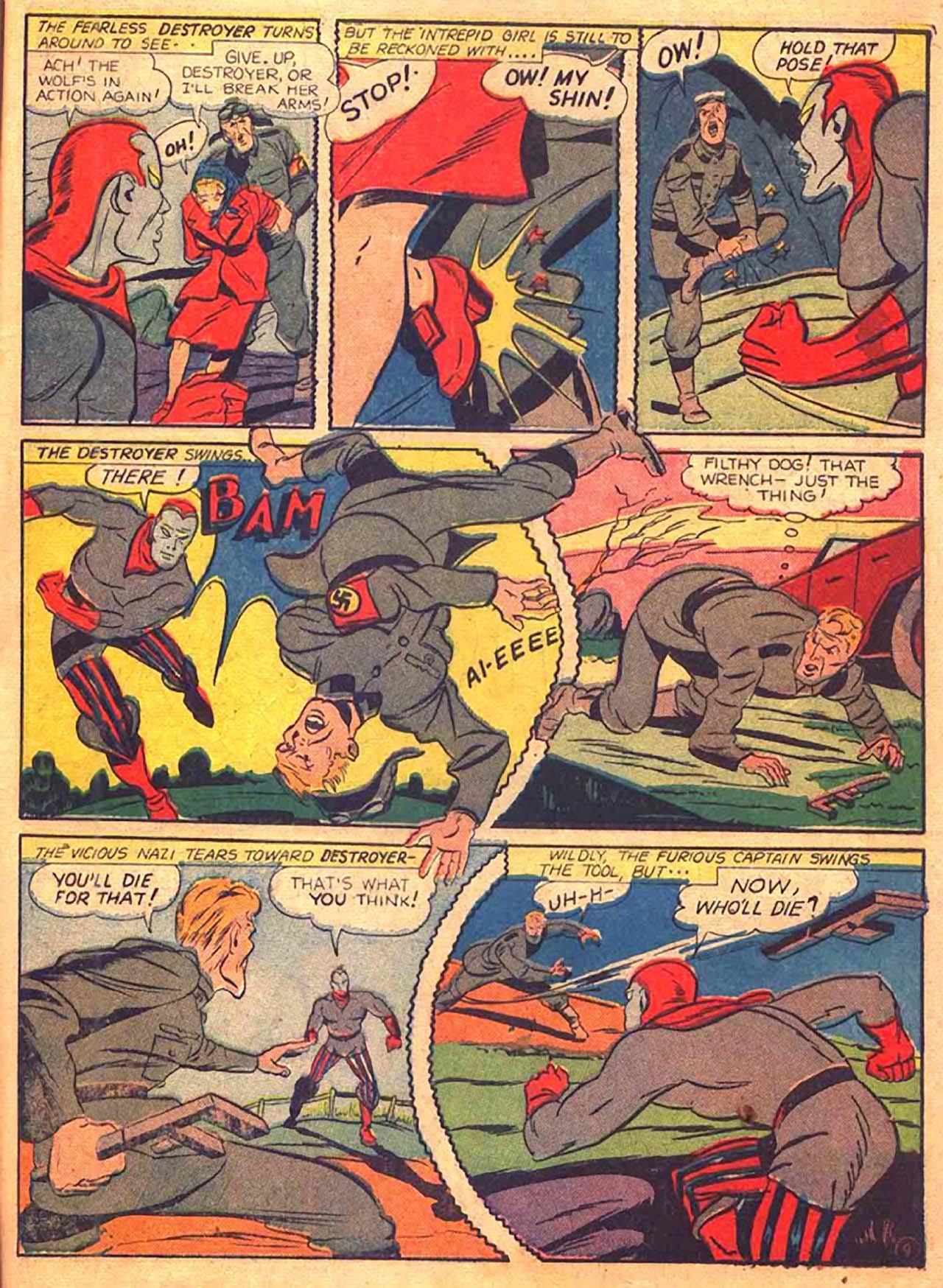 Read online All-Winners Comics comic -  Issue #9 - 48