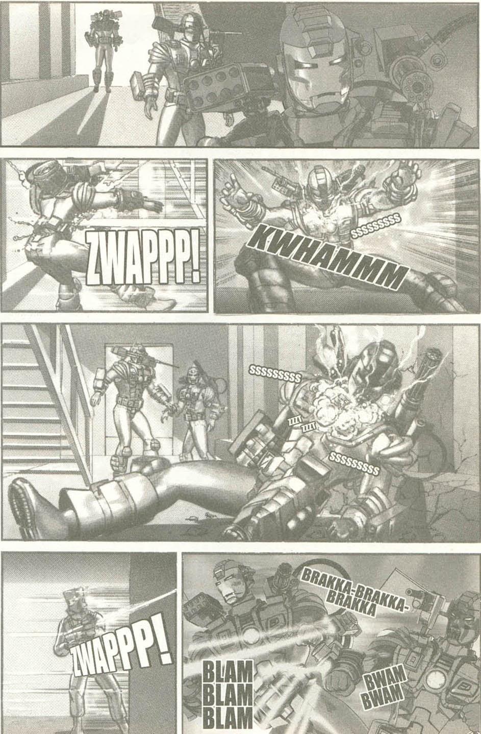 Read online U.S. War Machine comic -  Issue #6 - 18