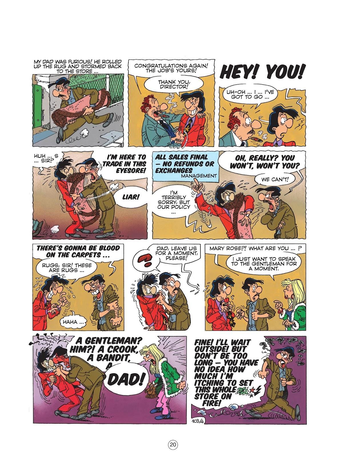 Read online Cedric comic -  Issue #6 - 22