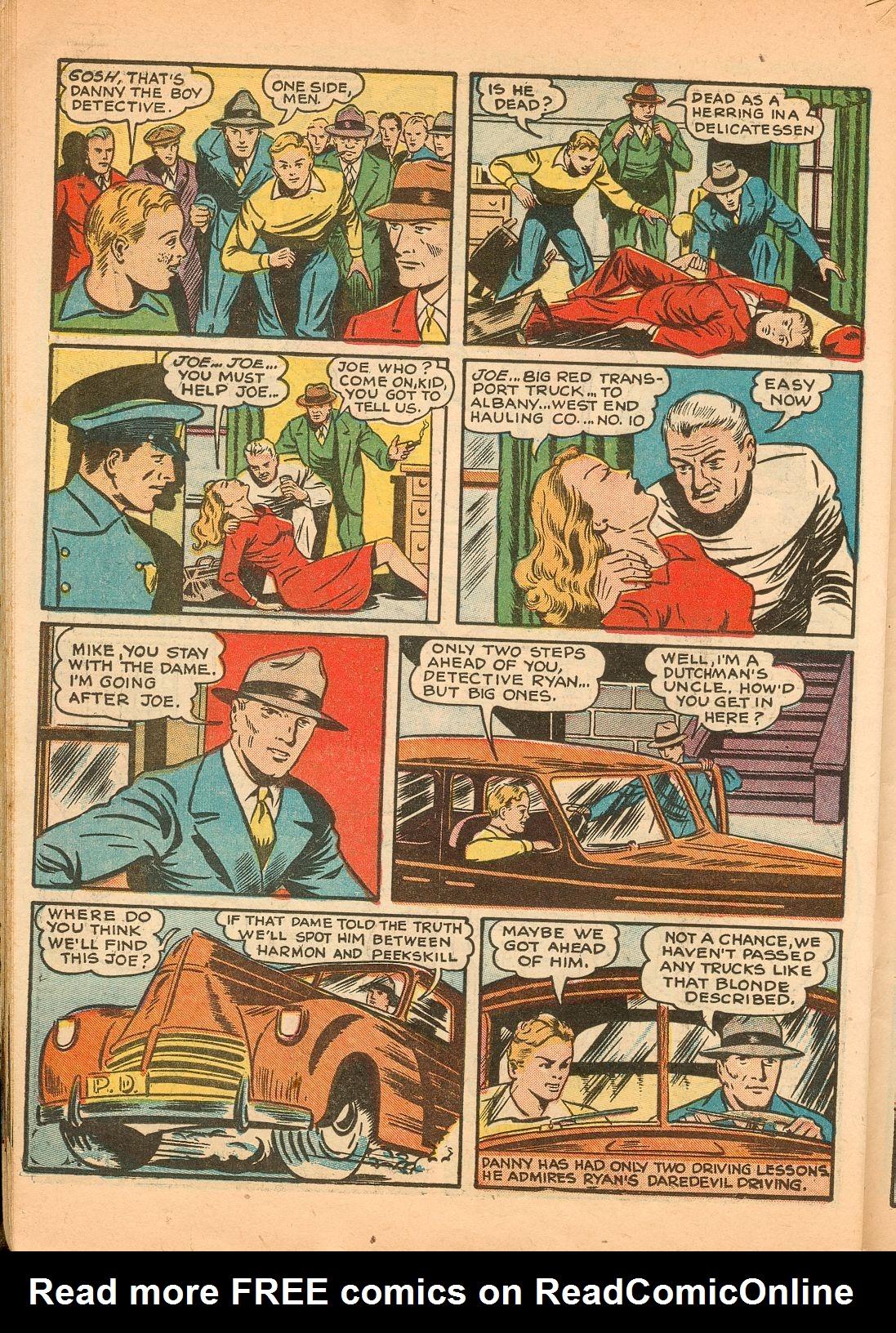 Read online Shadow Comics comic -  Issue #11 - 50